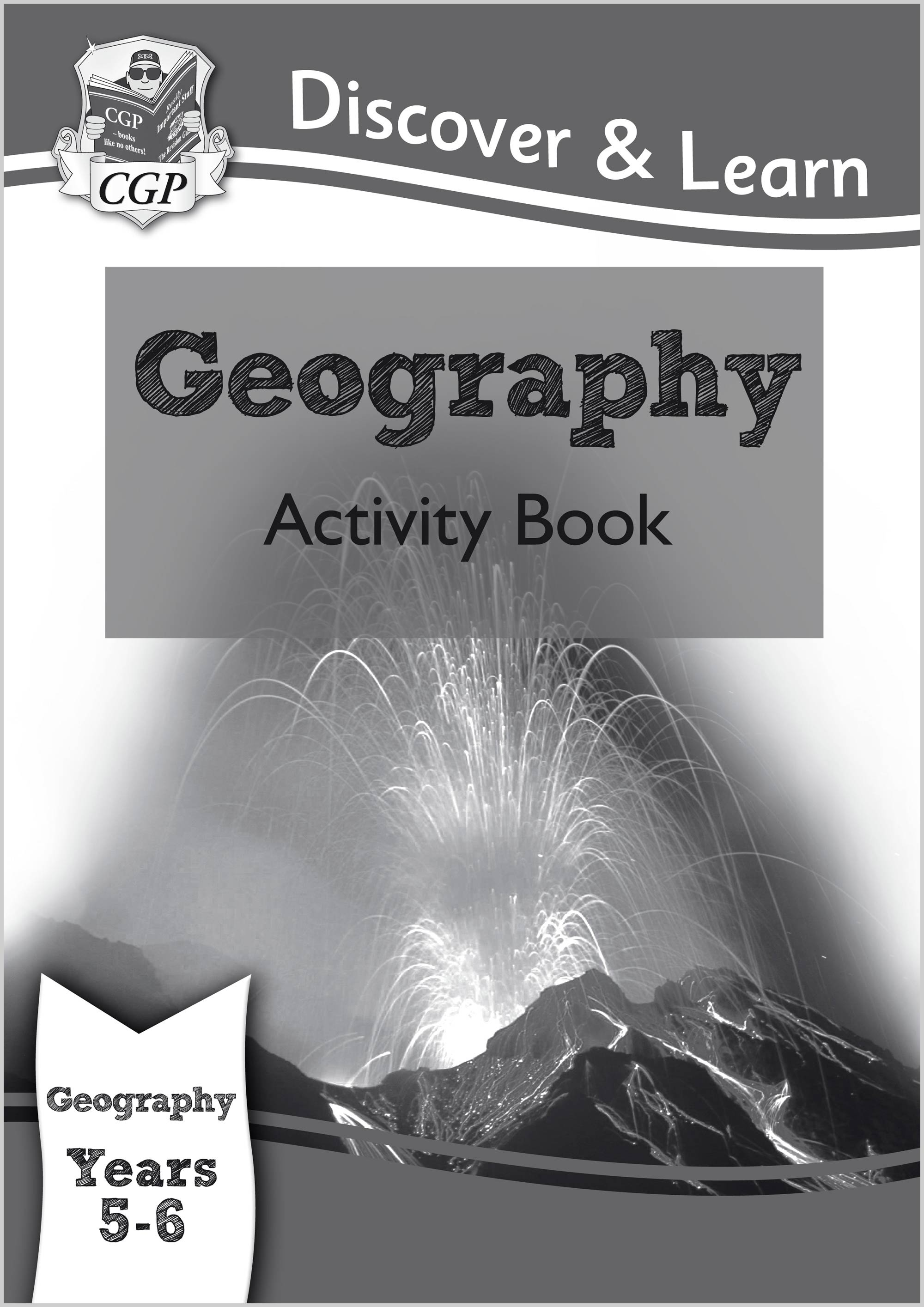 G2Q21 - KS2 Discover & Learn: Geography - Activity Book, Year 5 & 6