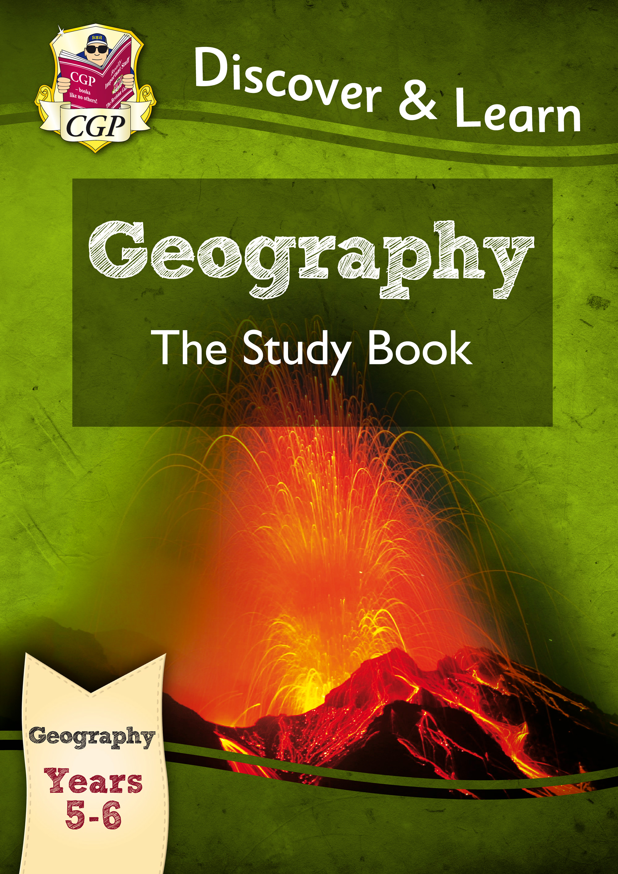 G2R21 - KS2 Discover & Learn: Geography - Study Book, Year 5 & 6