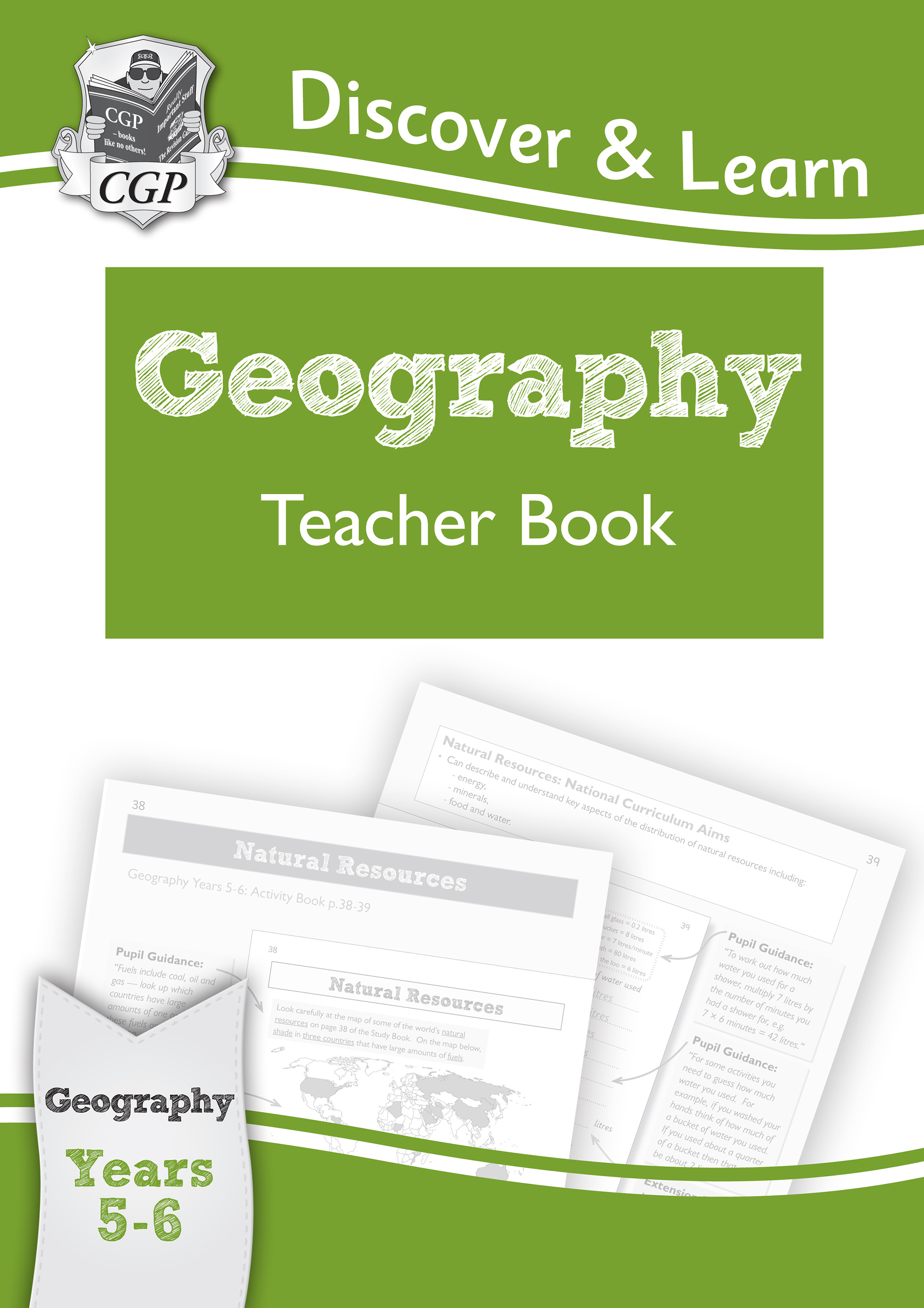 G2T21 - KS2 Discover & Learn: Geography - Teacher Book, Year 5 & 6