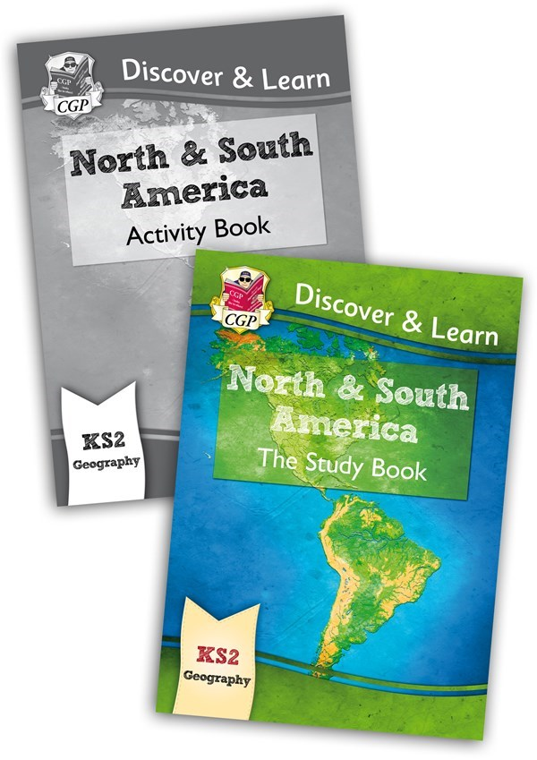 Map Of North America Ks2.New Ks2 Discover Learn Geography North And South America Bundle