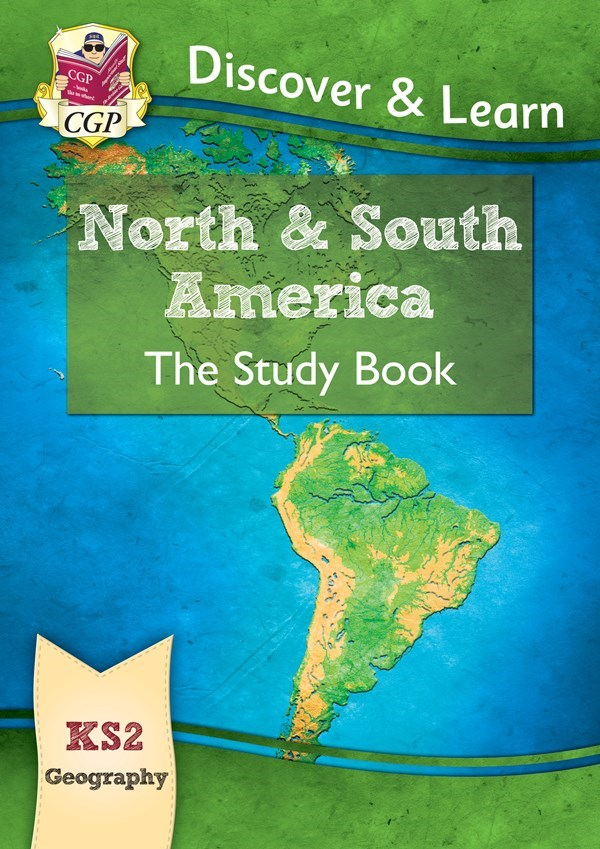 Map Of America Ks2.New Ks2 Discover Learn Geography North And South America Study
