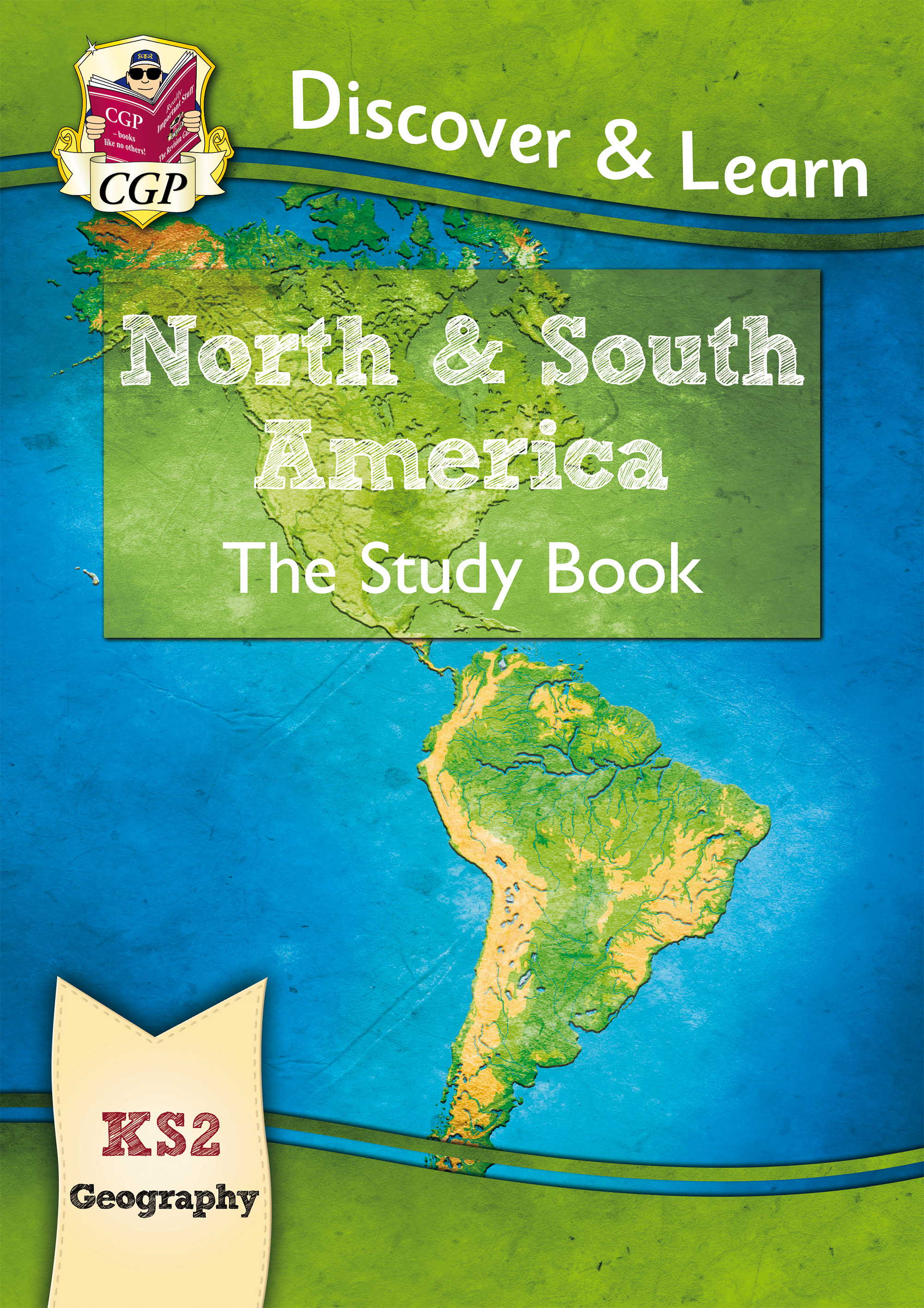 GAR21D - KS2 Discover & Learn: Geography - North and South America Study Book Online Edition