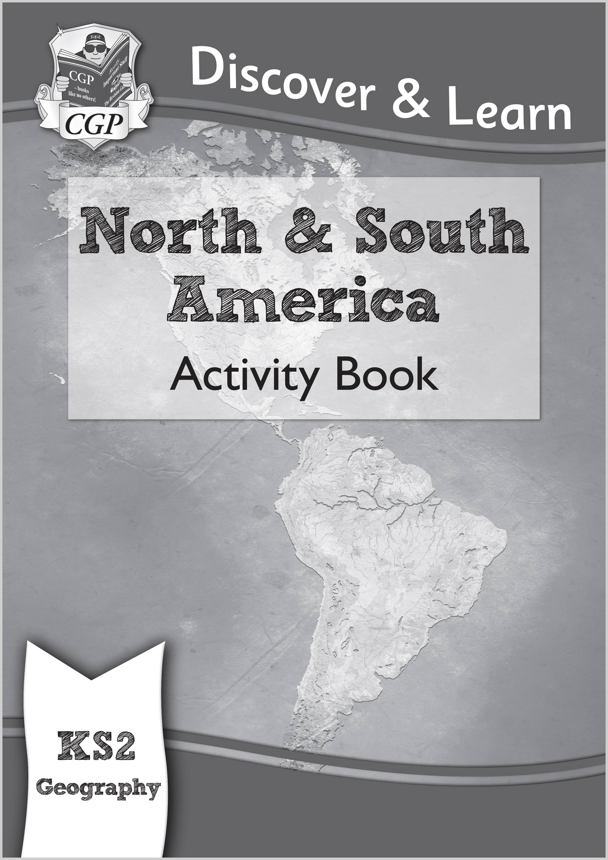 GAW21 - KS2 Discover & Learn: Geography - North and South America Activity Book