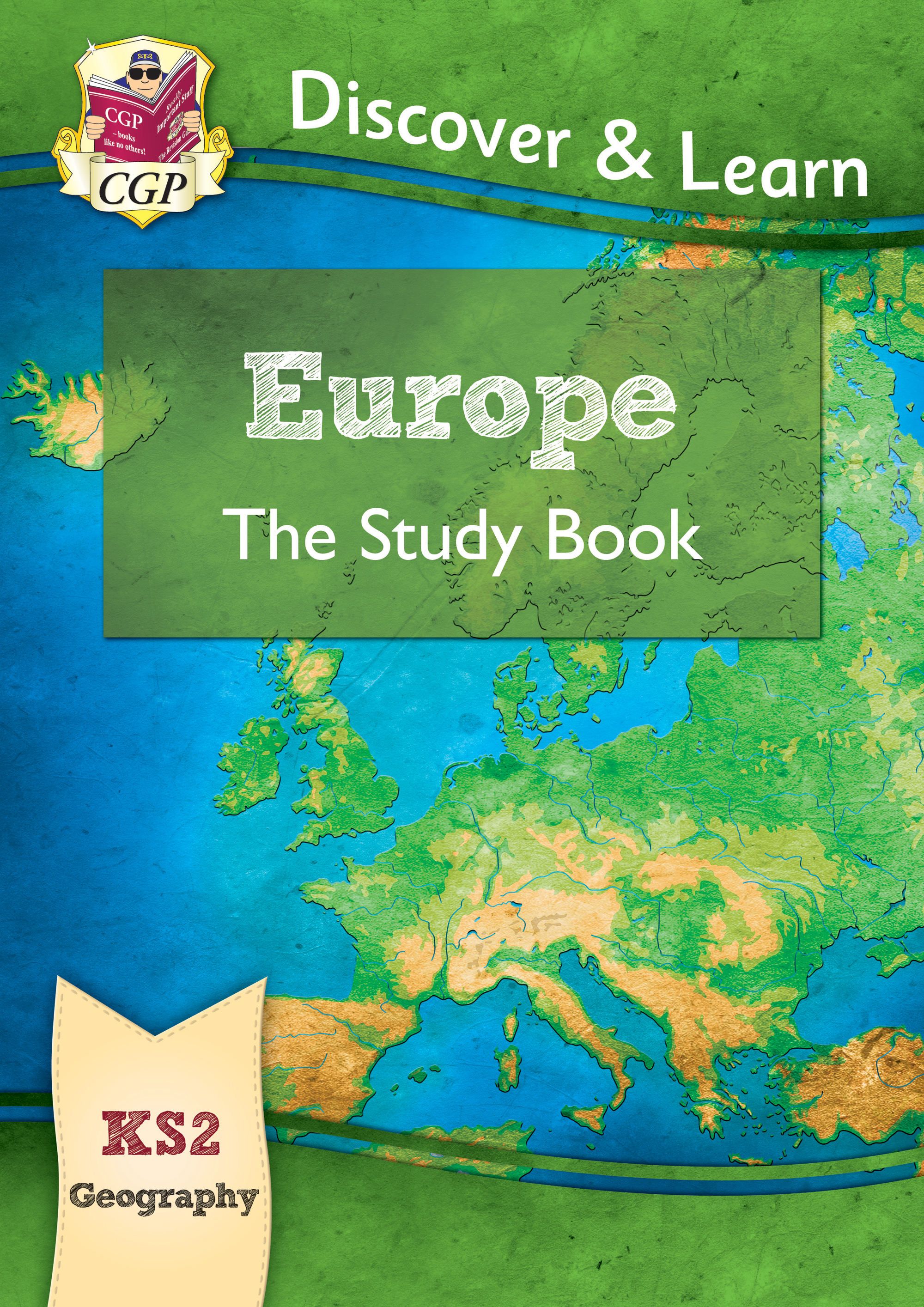 GER21 - New KS2 Discover & Learn: Geography - Europe Study Book