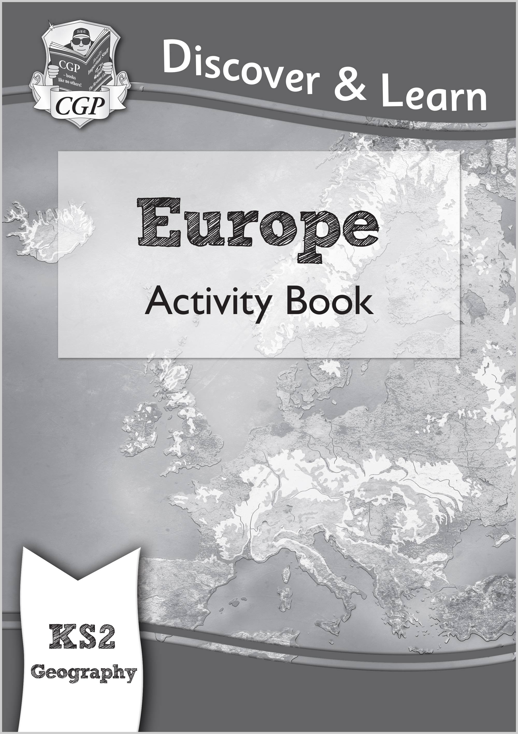 GEW21 - KS2 Discover & Learn: Geography - Europe Activity Book