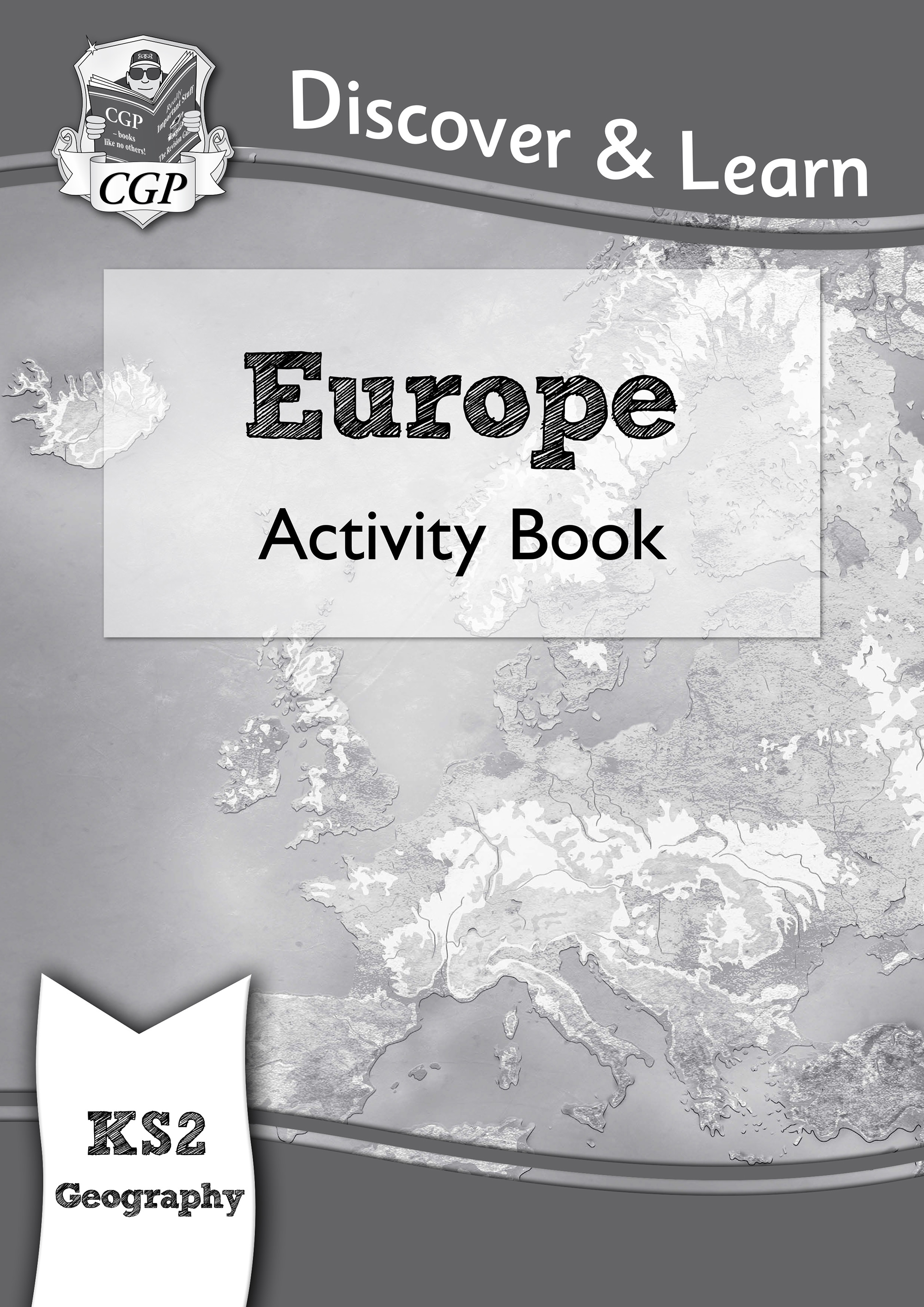 GEW21DK - KS2 Discover & Learn: Geography - Europe Activity Book