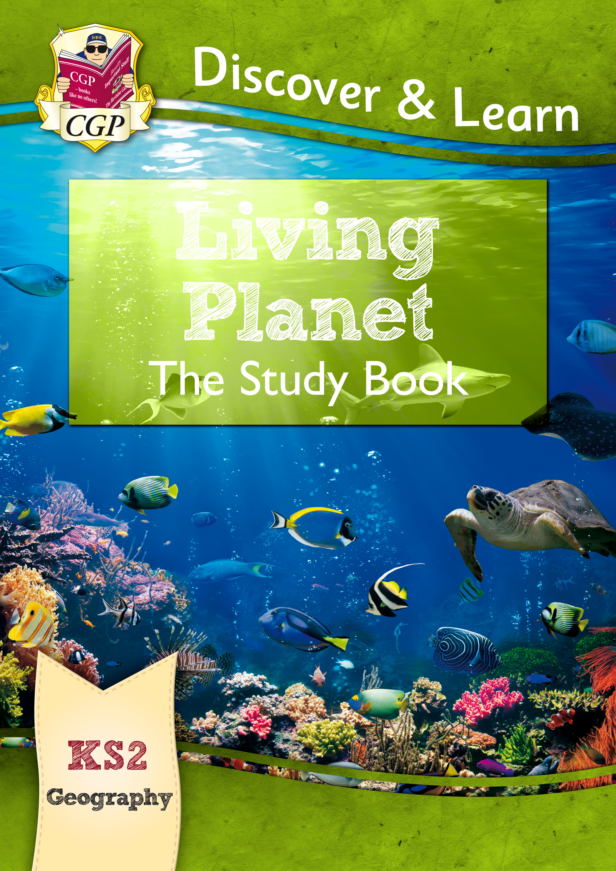 GLR21 - KS2 Discover & Learn: Geography - Living Planet Study Book