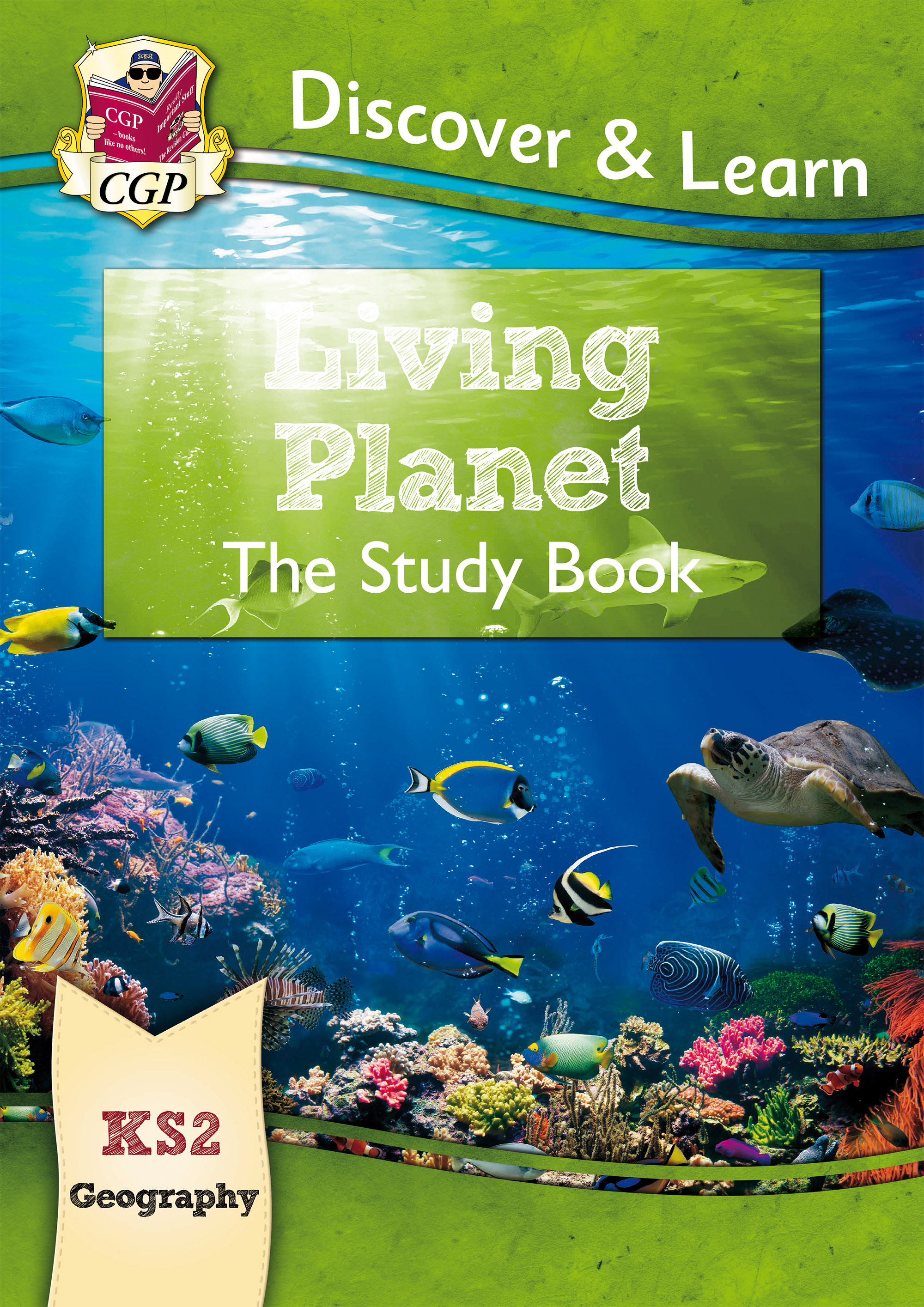 GLR21D - KS2 Discover & Learn: Geography - Living Planet Study Book Online Edition