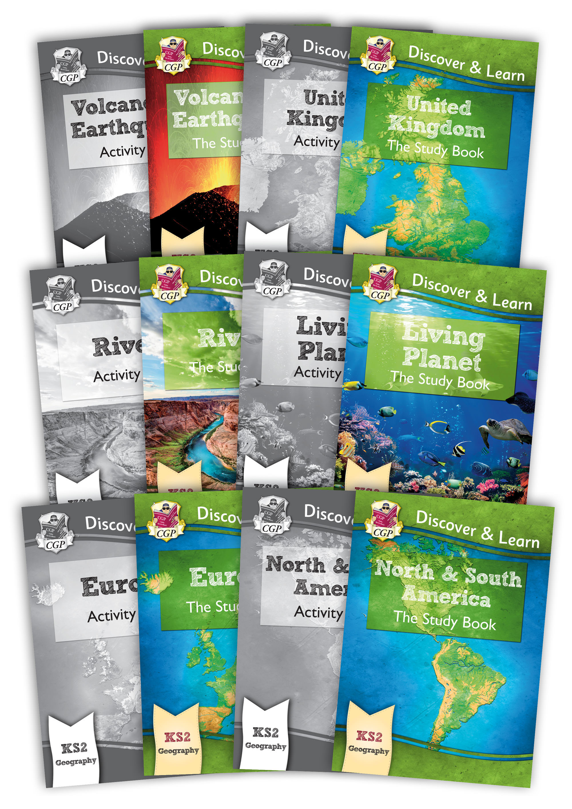 GMB21 - New KS2 Discover & Learn: Geography - Complete 12 Book Bundle