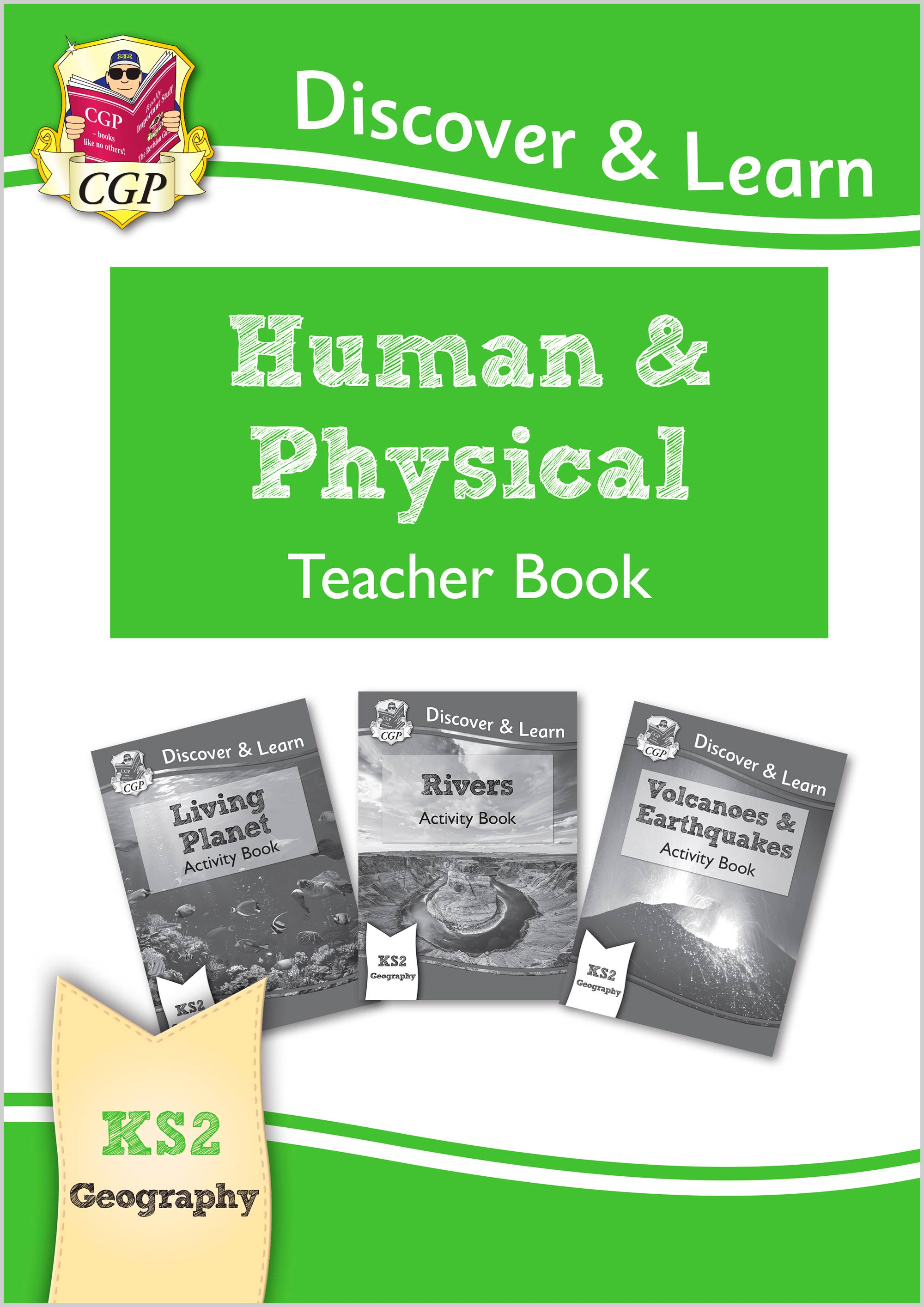 GPT21 - KS2 Discover & Learn: Geography - Human and Physical Geography Teacher Book