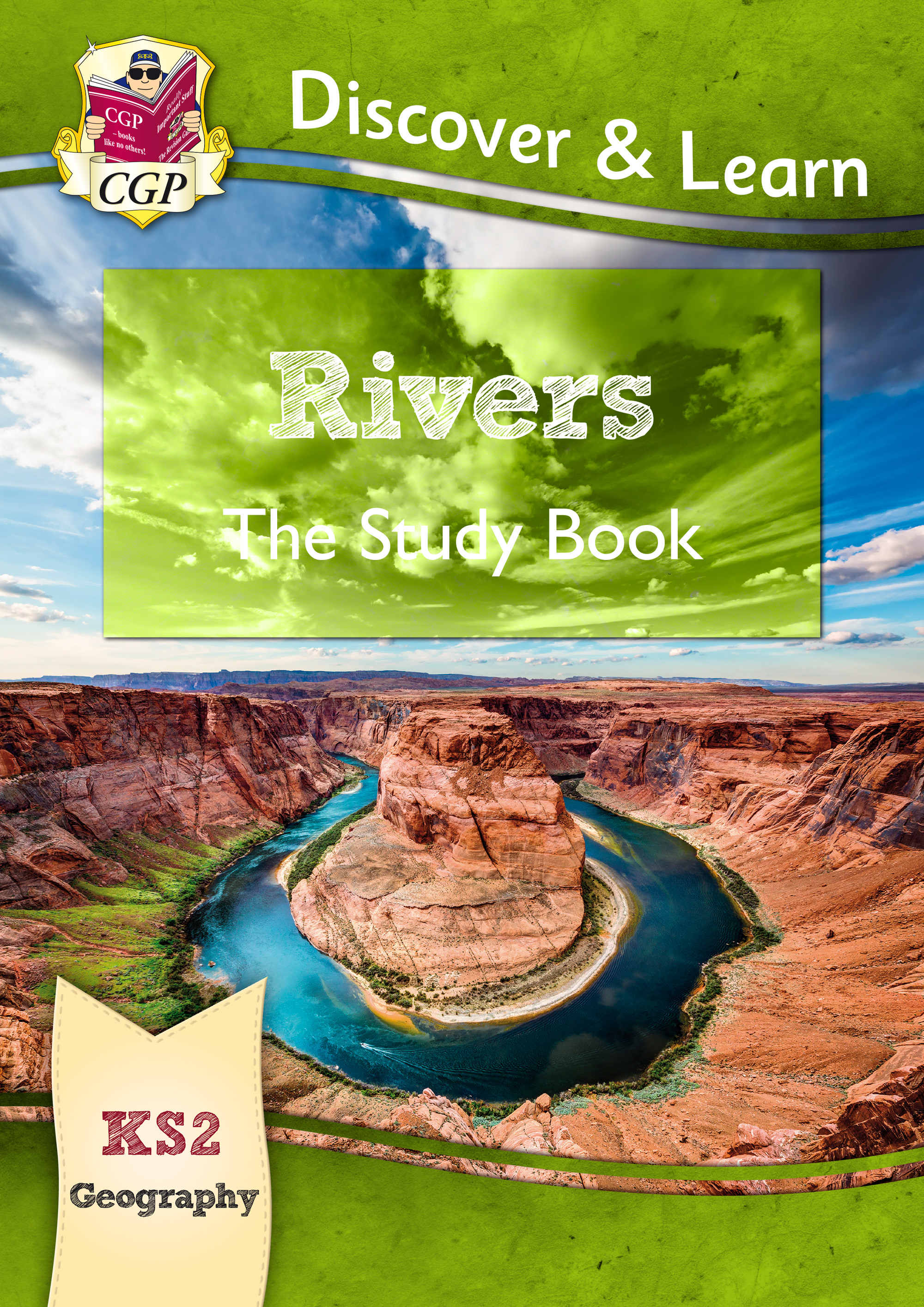 GRR21 - New KS2 Discover & Learn: Geography - Rivers Study Book