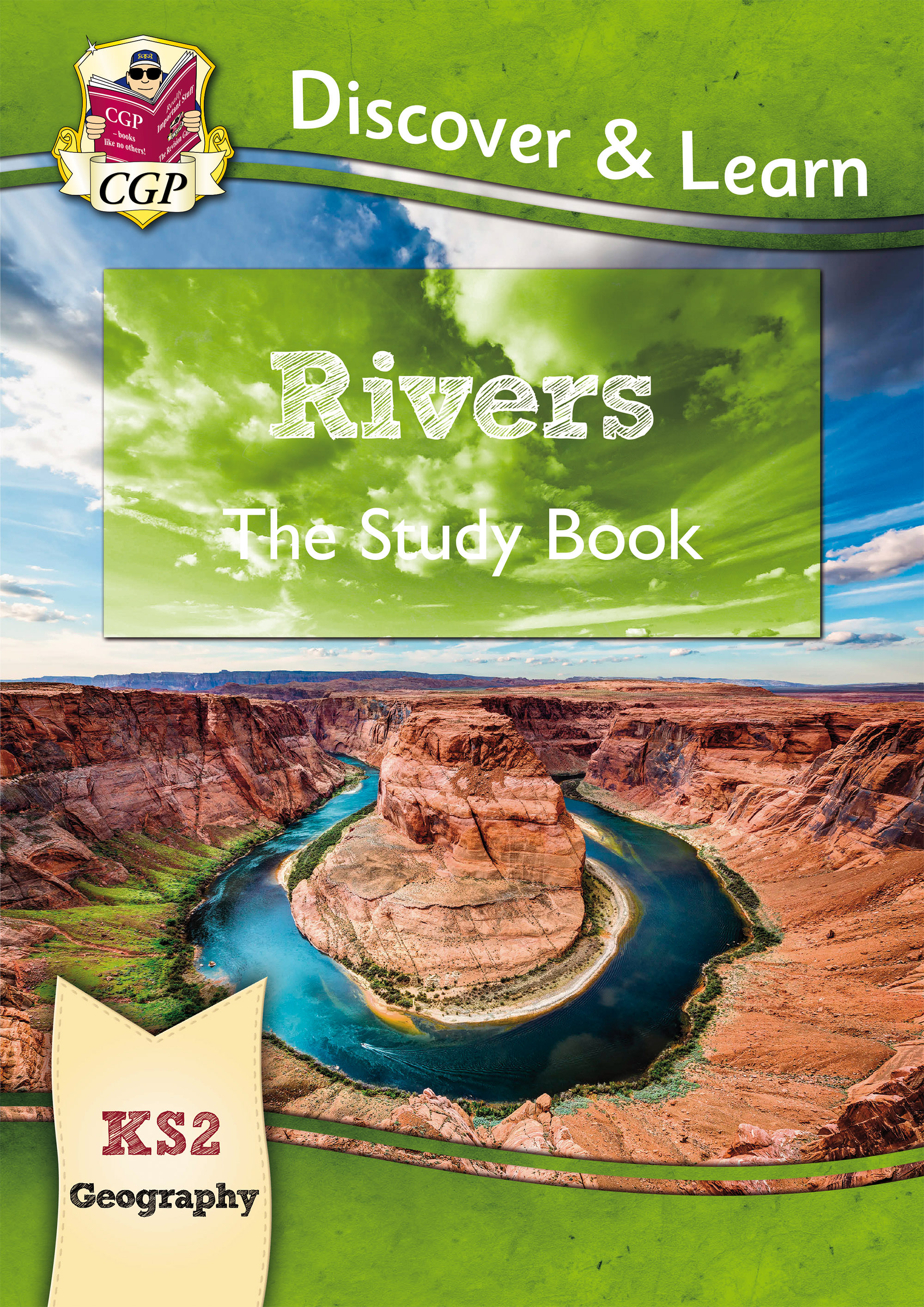 GRR21D - KS2 Discover & Learn: Geography - Rivers Study Book Online Edition