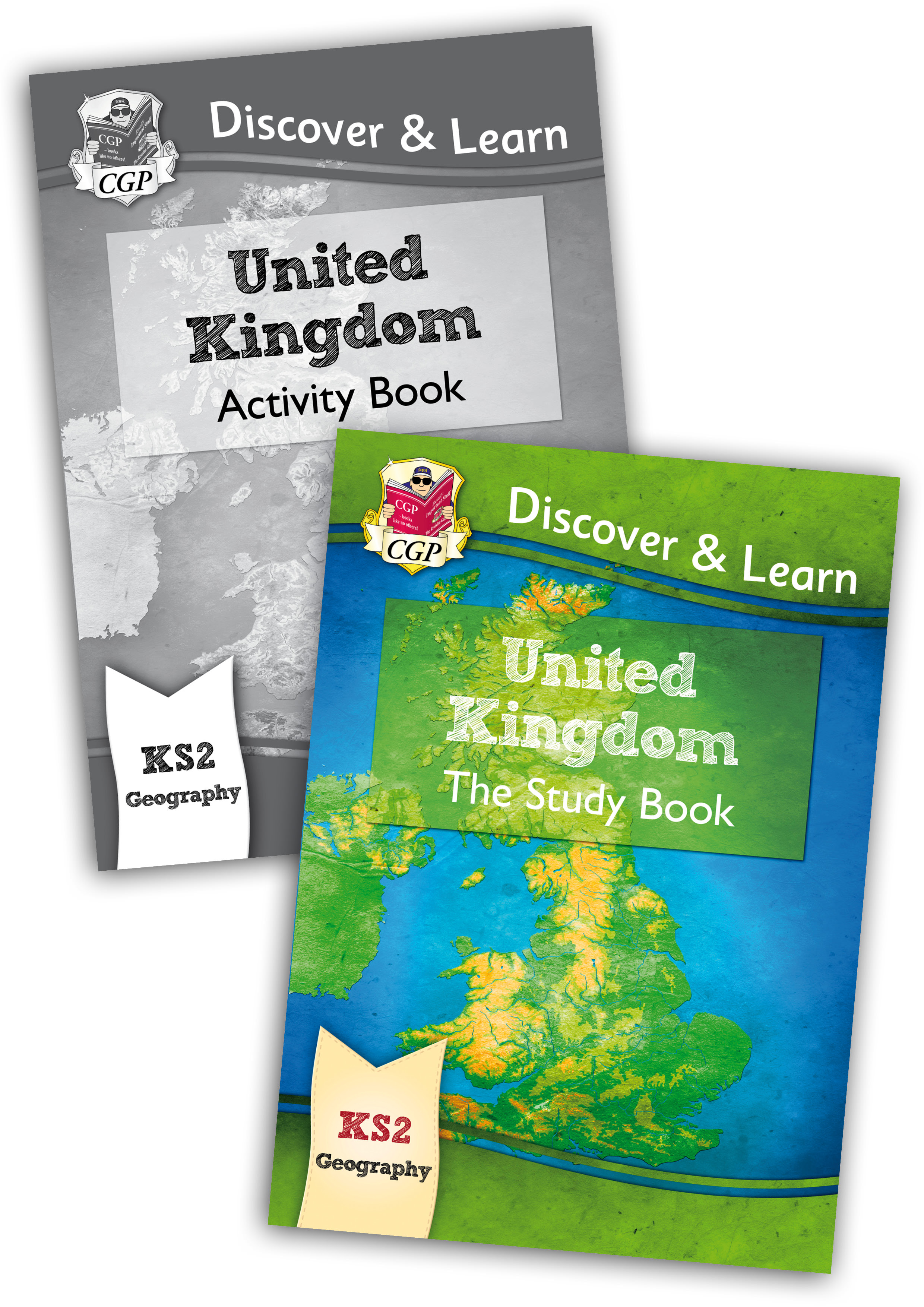 GUB21 - KS2 Discover & Learn: Geography - United Kingdom Bundle