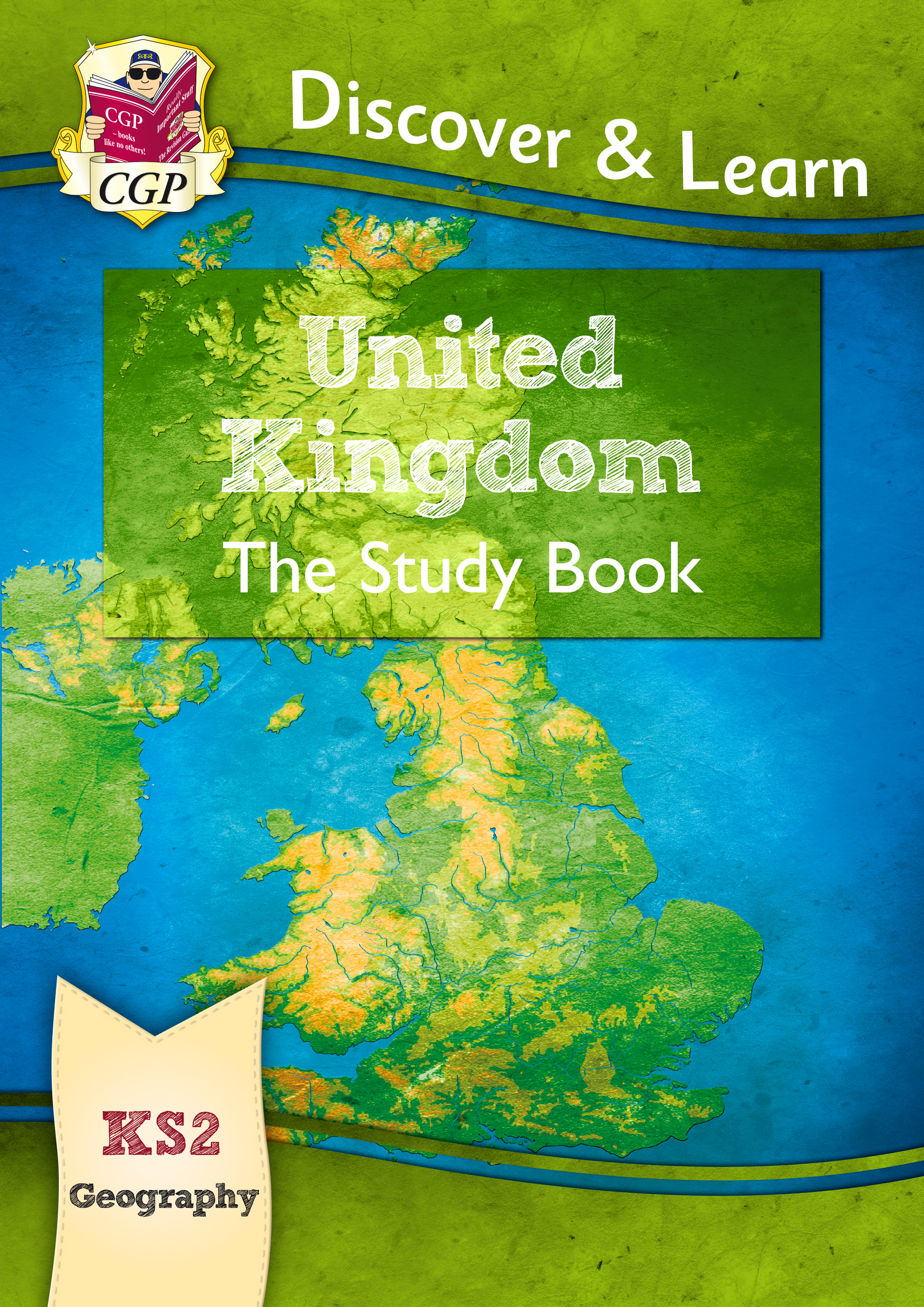 GUR21 - New KS2 Discover & Learn: Geography - United Kingdom Study Book