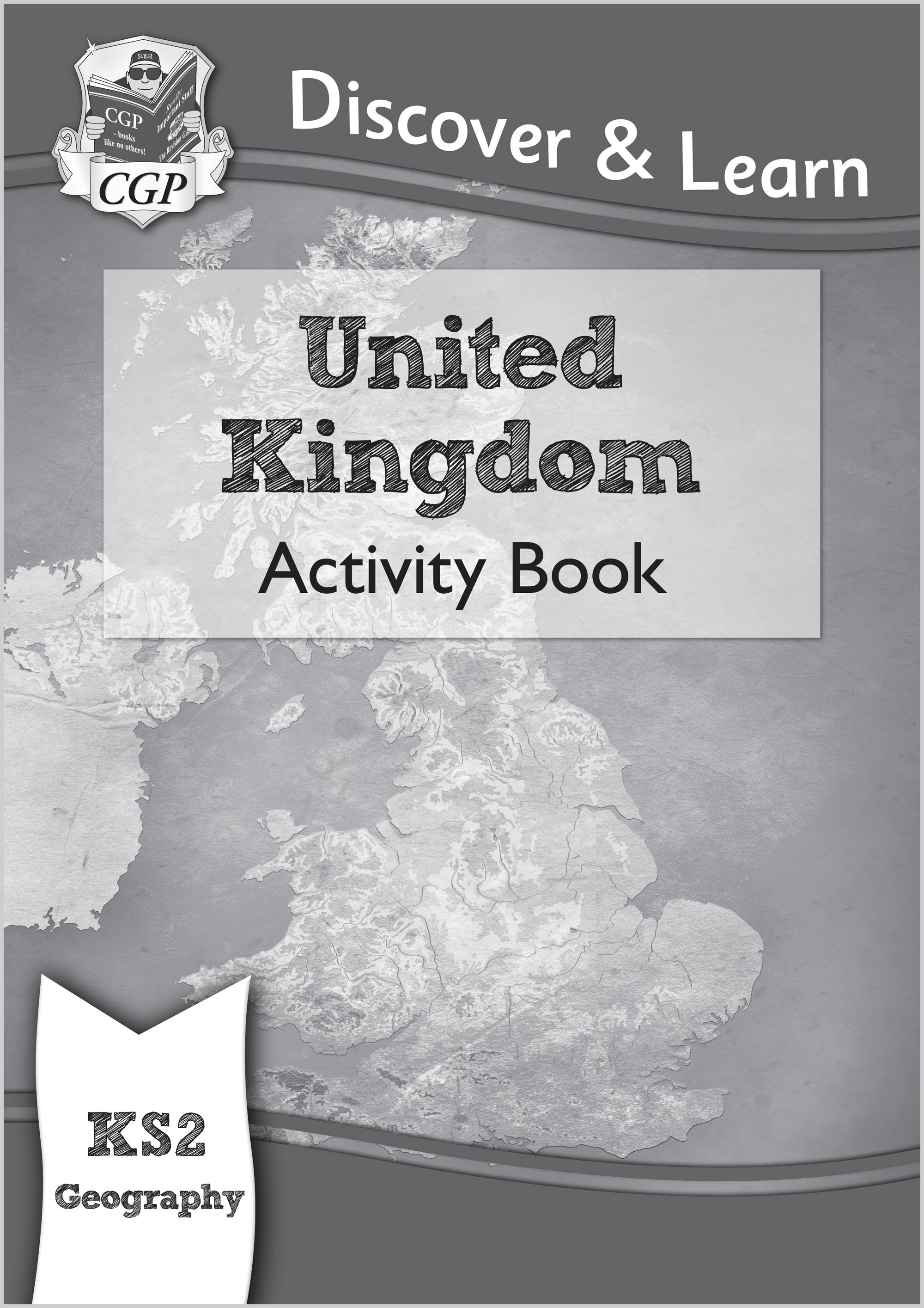 GUW21 - KS2 Discover & Learn: Geography - United Kingdom Activity Book