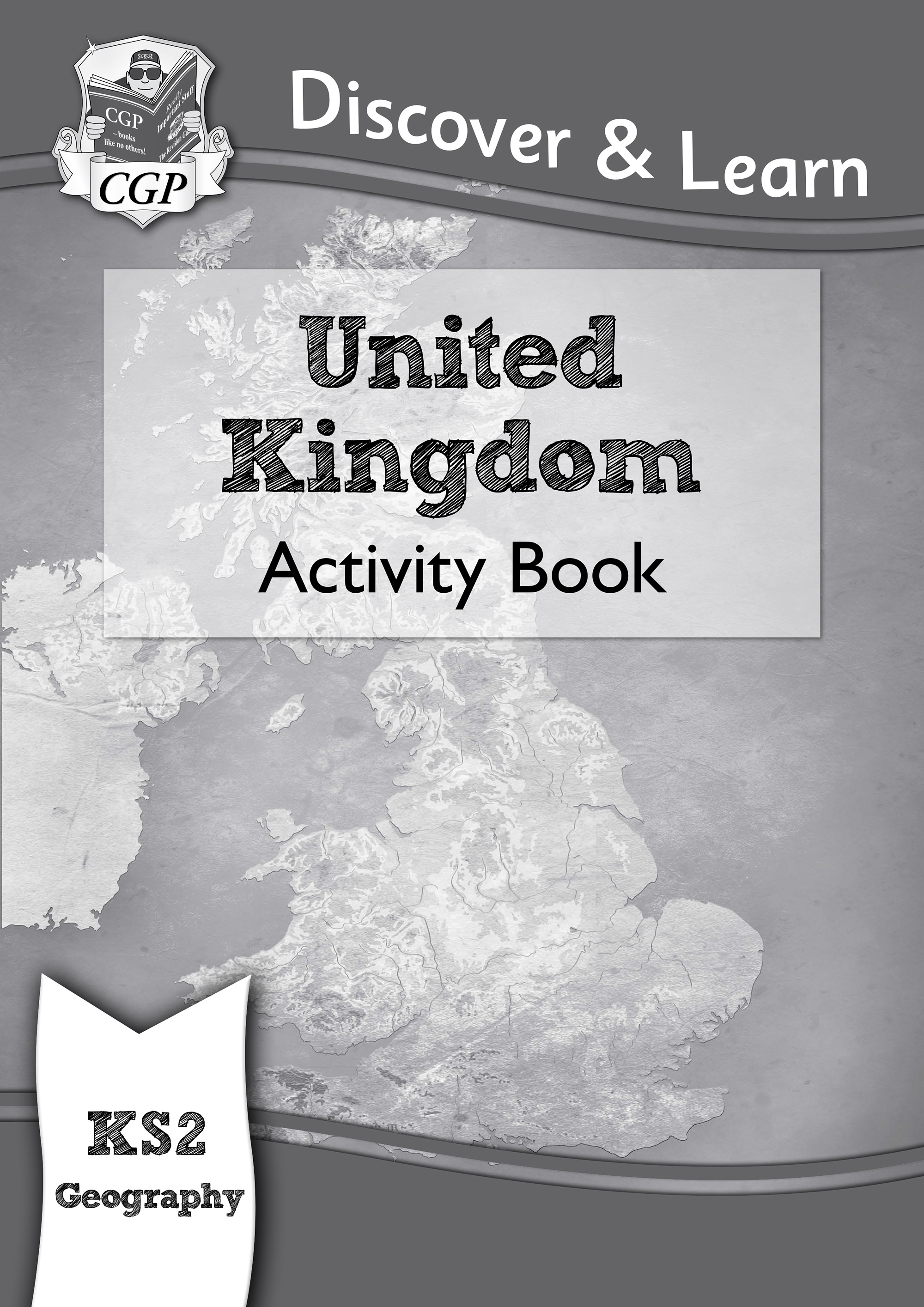 GUW21D - KS2 Discover & Learn: Geography - United Kingdom Activity Book Online Edition