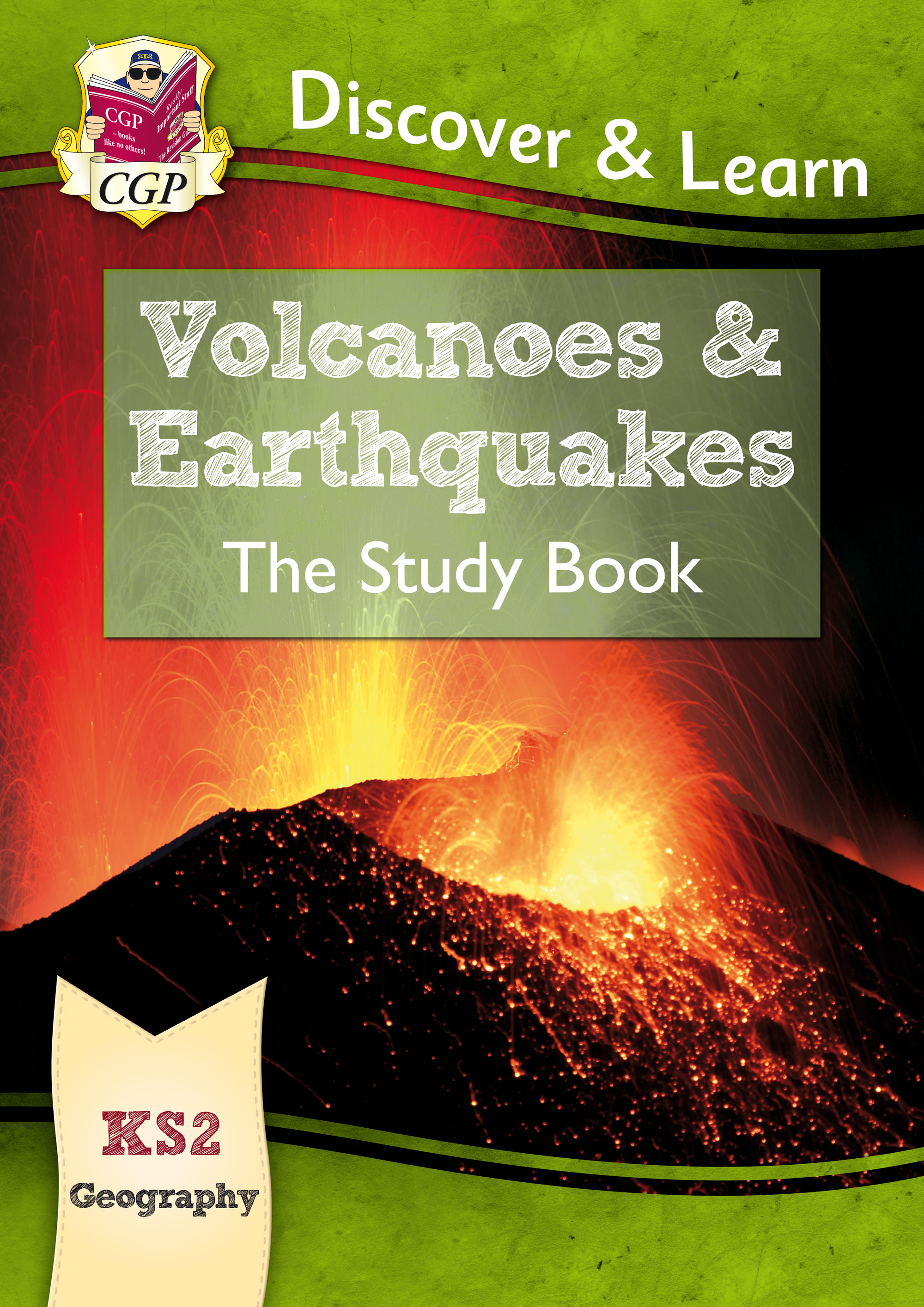 GVR21 - KS2 Discover & Learn: Geography - Volcanoes and Earthquakes Study Book