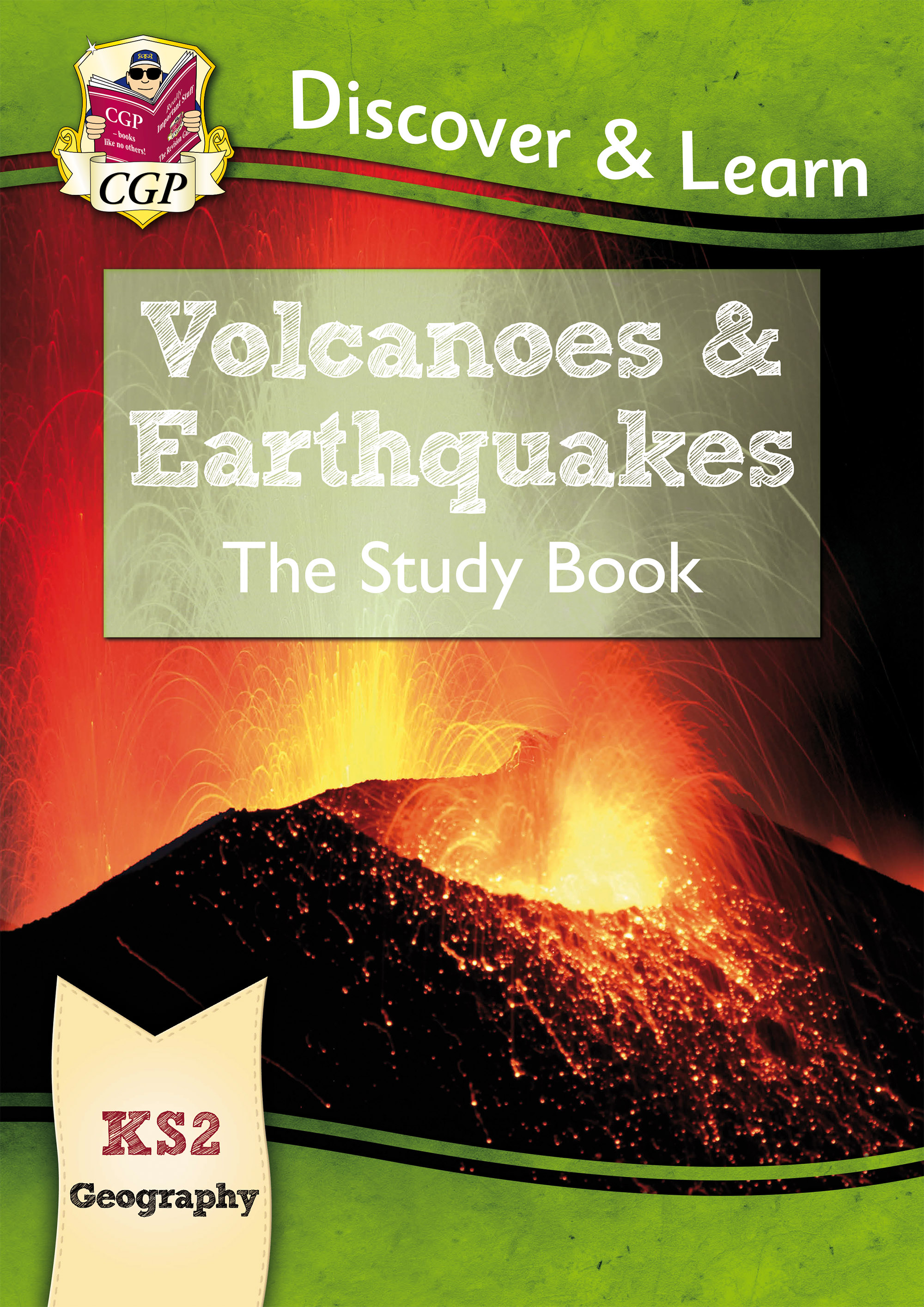 GVR21DK - New KS2 Discover & Learn: Geography - Volcanoes and Earthquakes Study Book