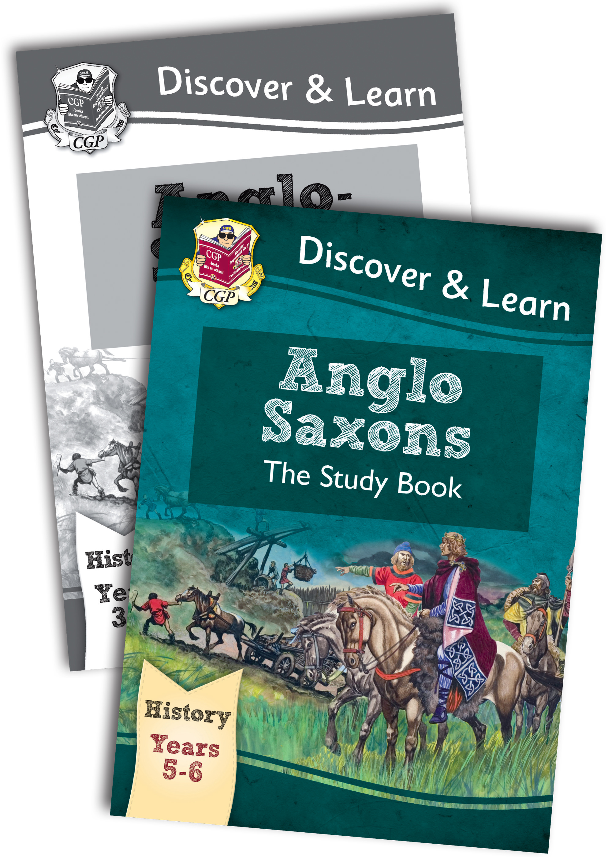 HAB22 - KS2 Discover & Learn: History - Anglo-Saxons Bundle