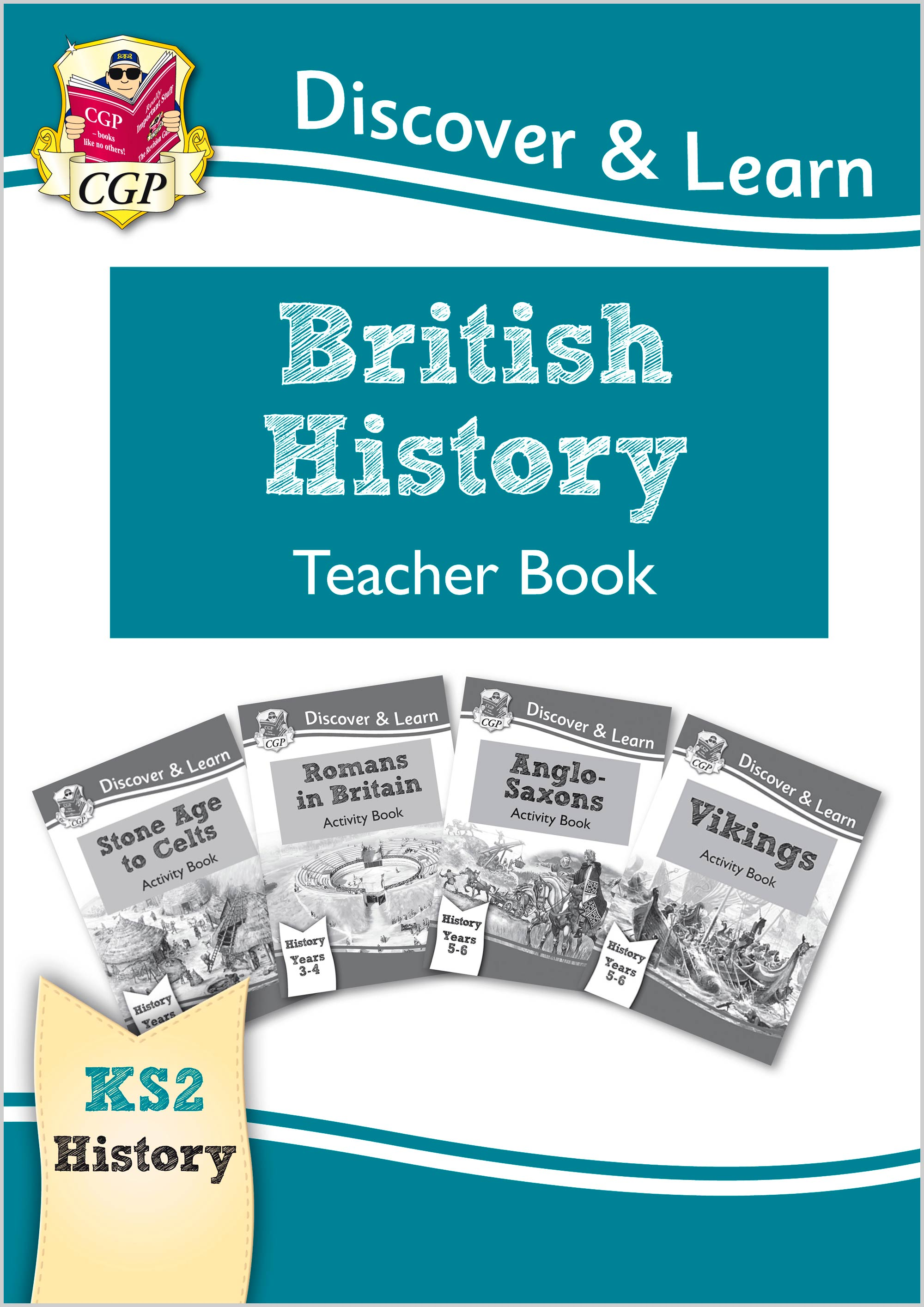 HBT21 - New KS2 Discover & Learn: History - British History Teacher Book, Years 3-6