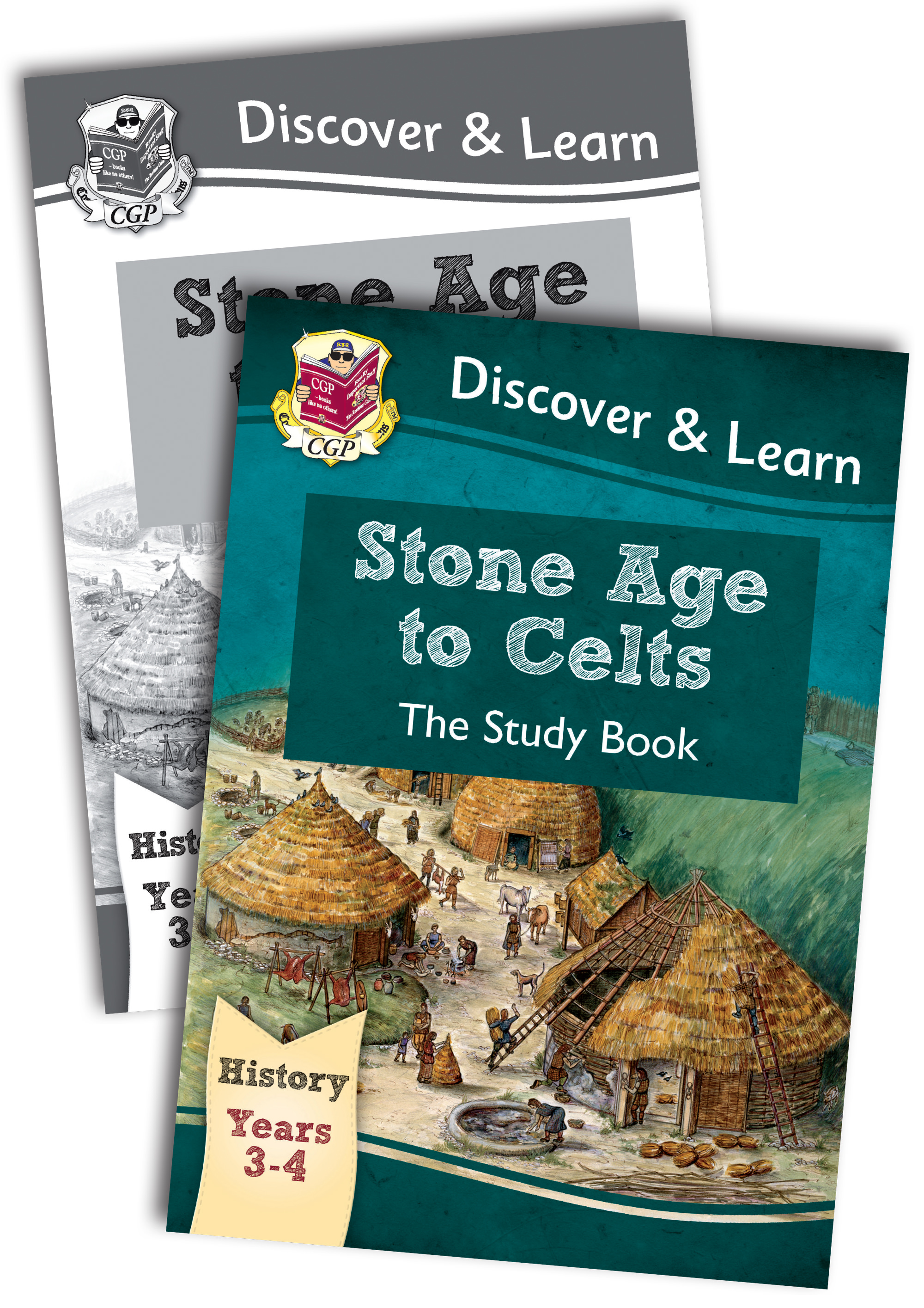 HCB22 - KS2 Discover & Learn: History - Stone Age to Celts Bundle