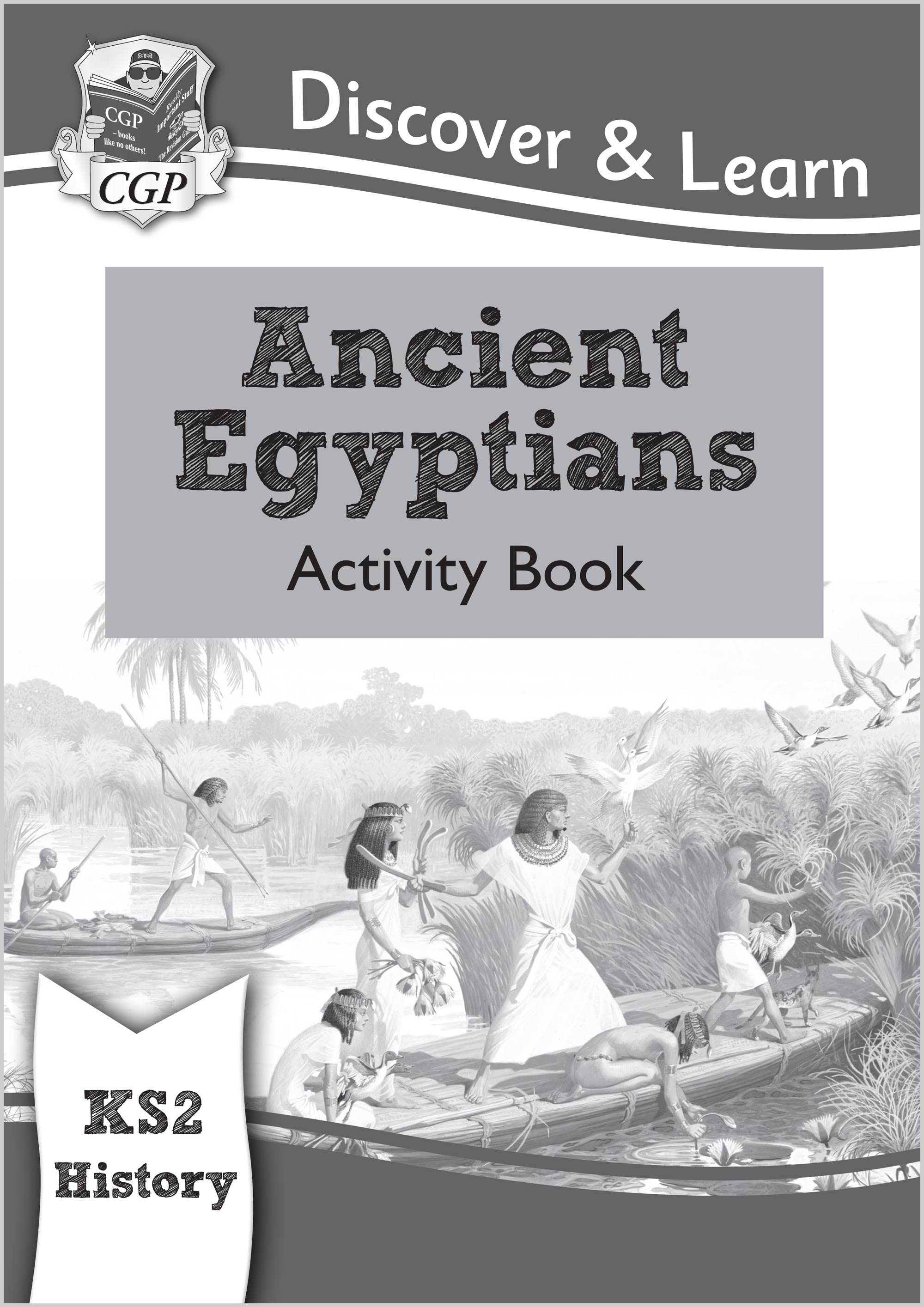HEW21 - KS2 Discover & Learn: History - Ancient Egyptians Activity Book