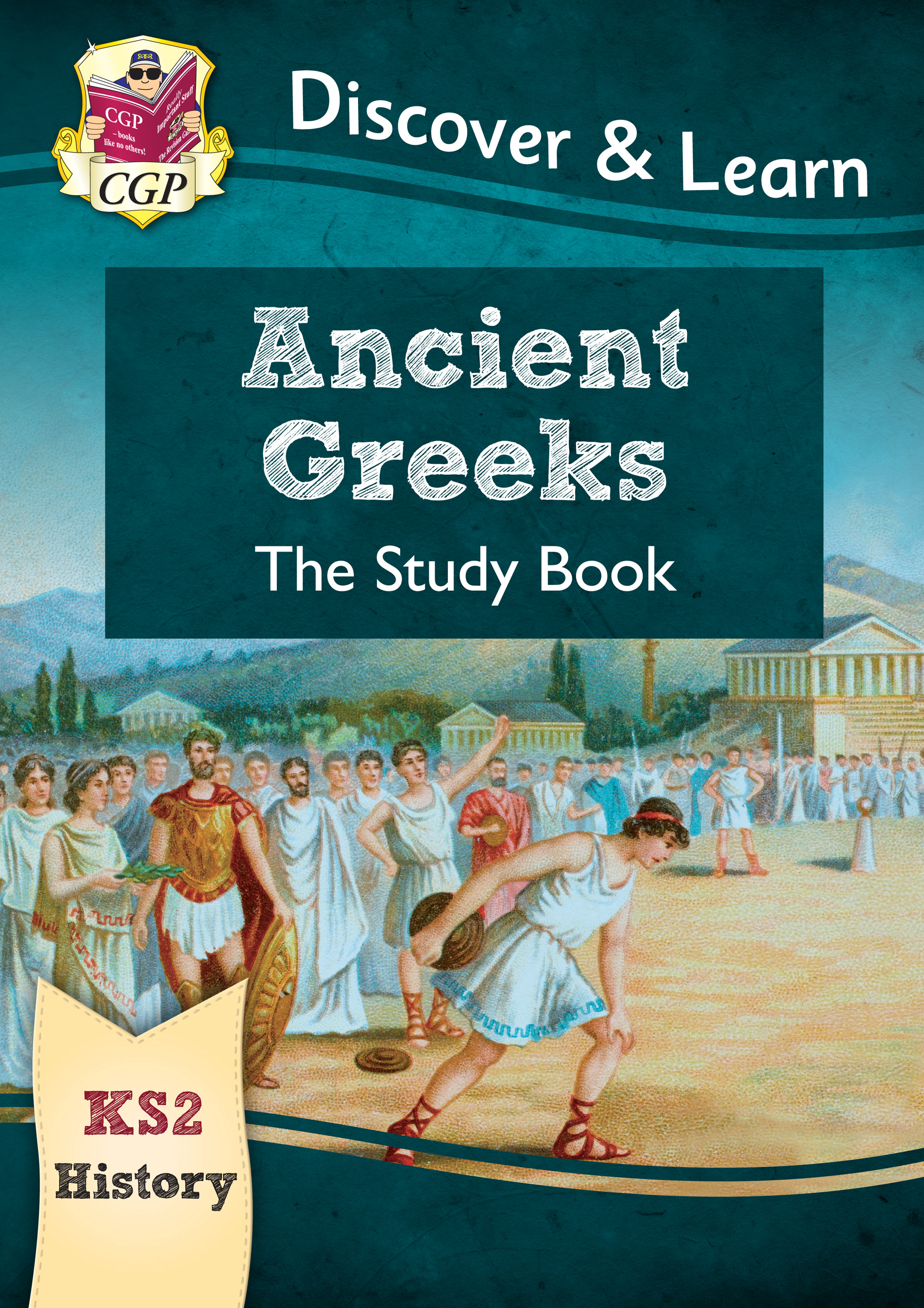 HGR21 - New KS2 Discover & Learn: History - Ancient Greeks Study Book