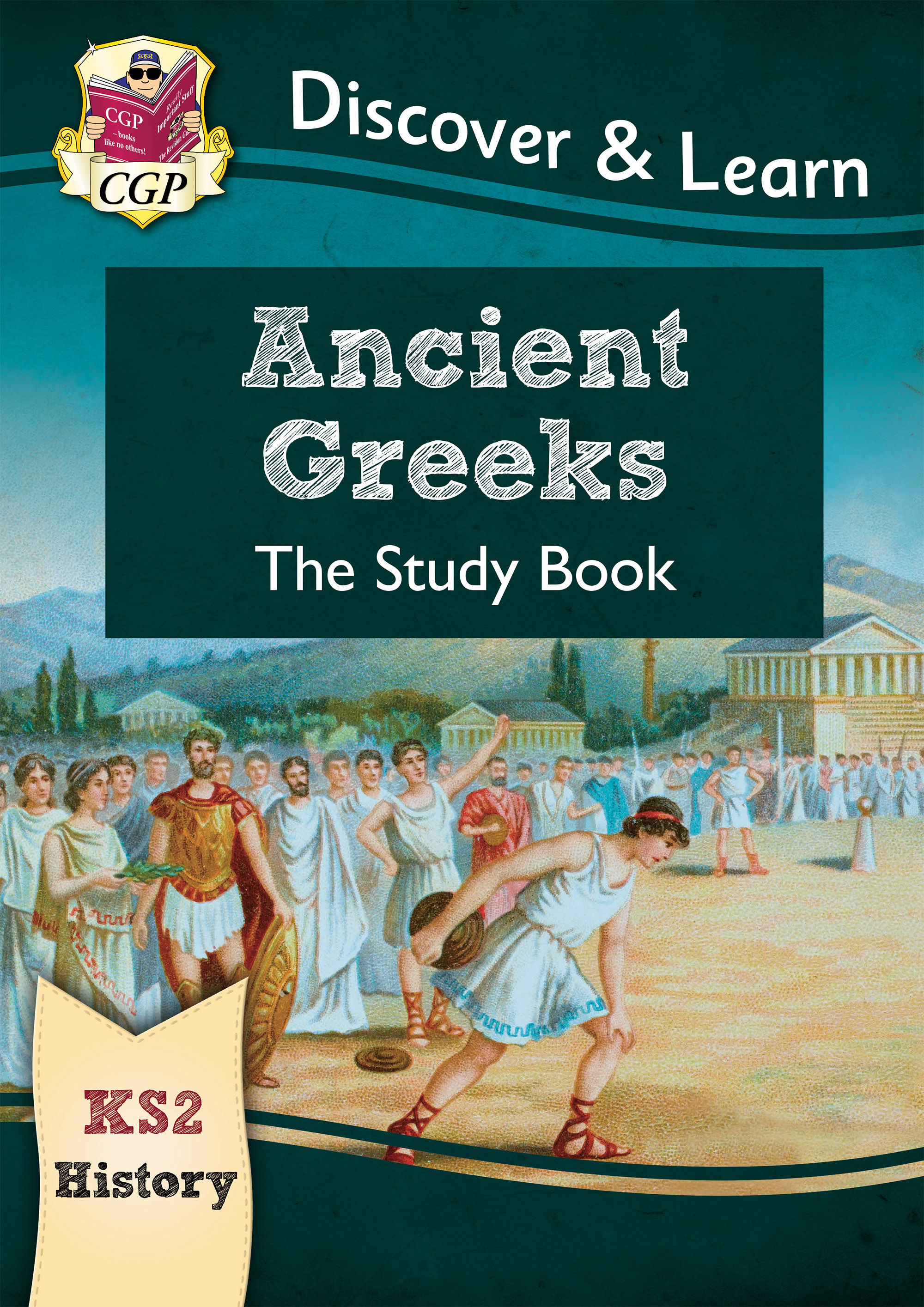 HGR21DK - New KS2 Discover & Learn: History - Ancient Greeks Study Book