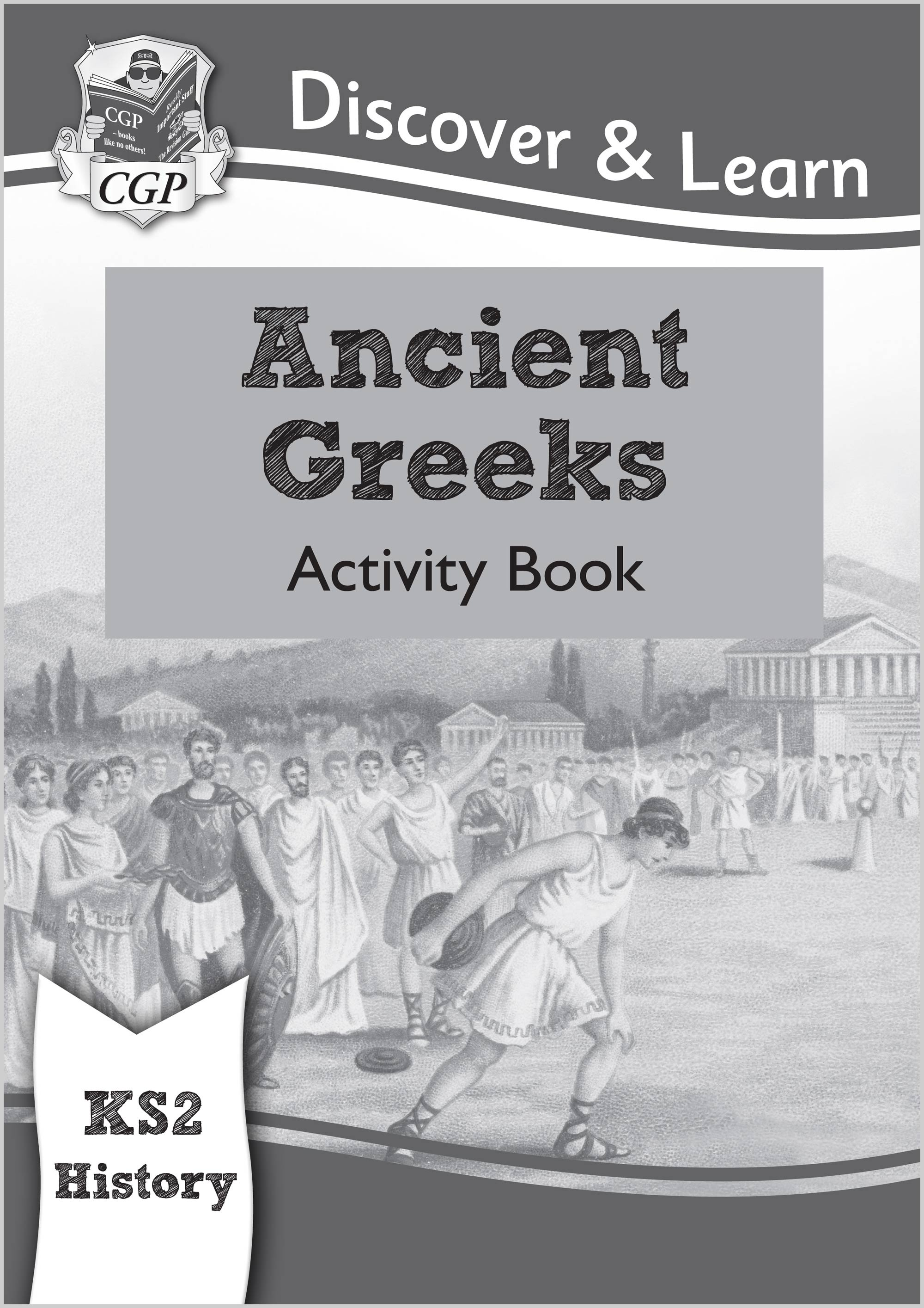 HGW21 - New KS2 Discover & Learn: History - Ancient Greeks Activity Book