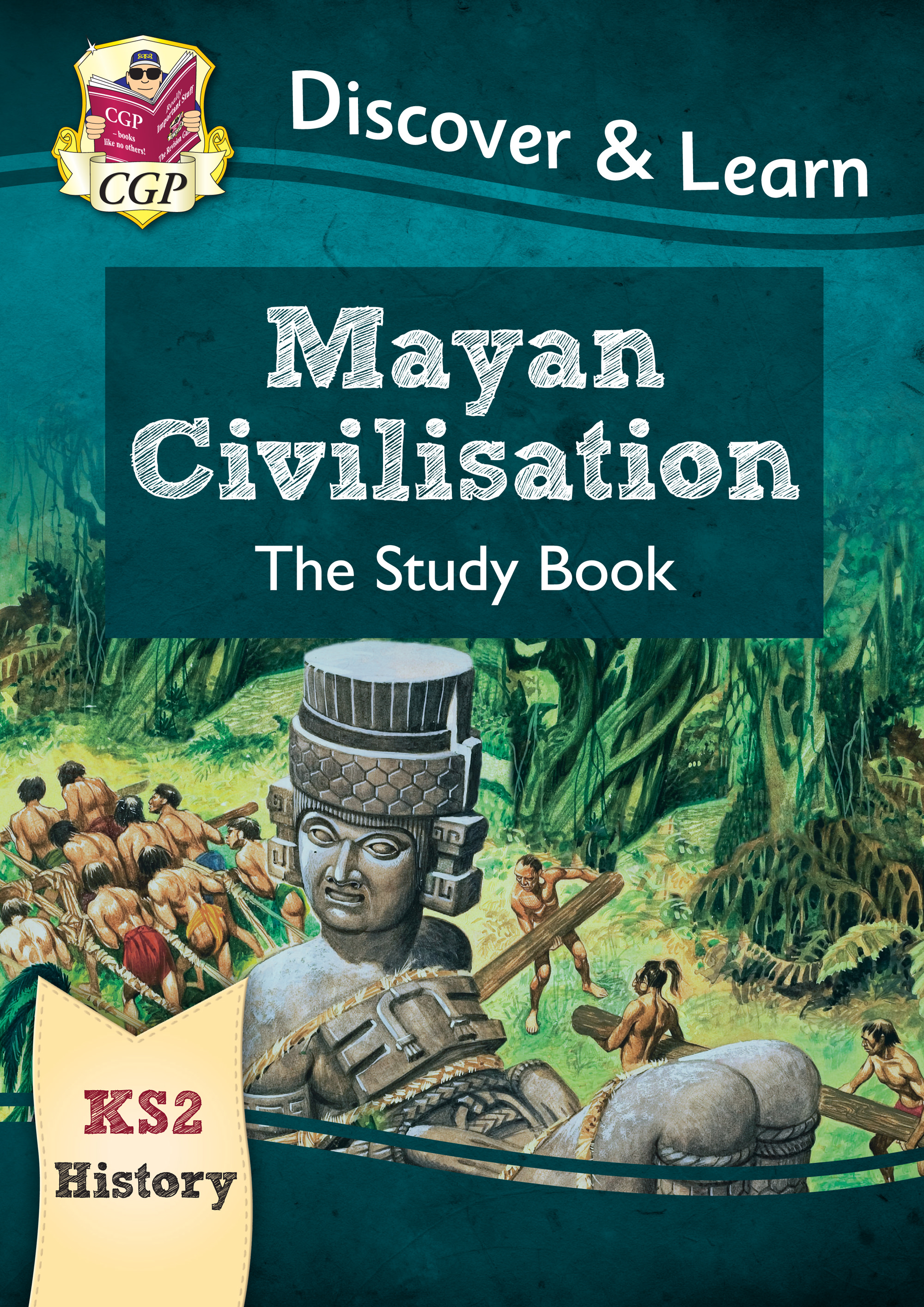 HMR21 - New KS2 Discover & Learn: History - Mayan Civilisation Study Book