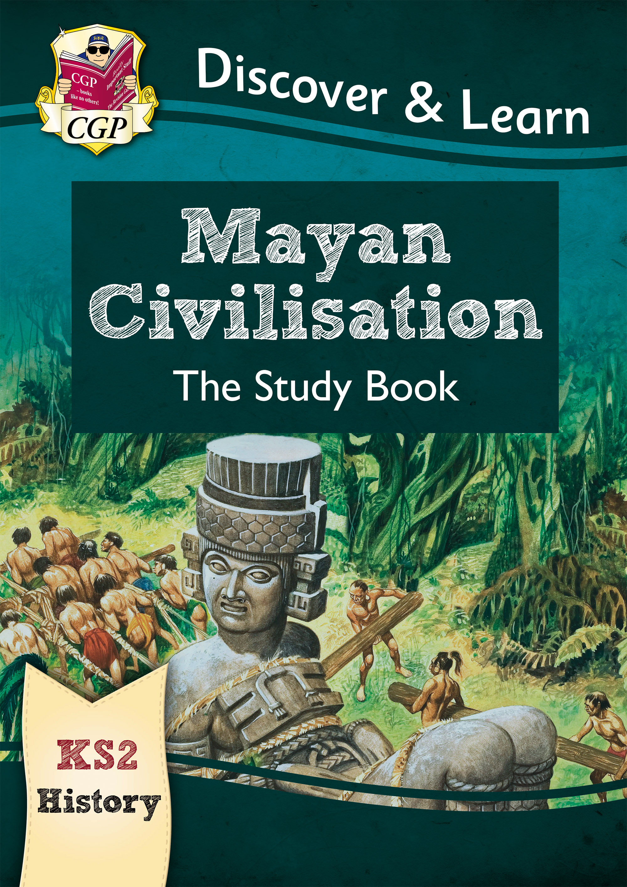 HMR21DK - New KS2 Discover & Learn: History - Mayan Civilisation Study Book