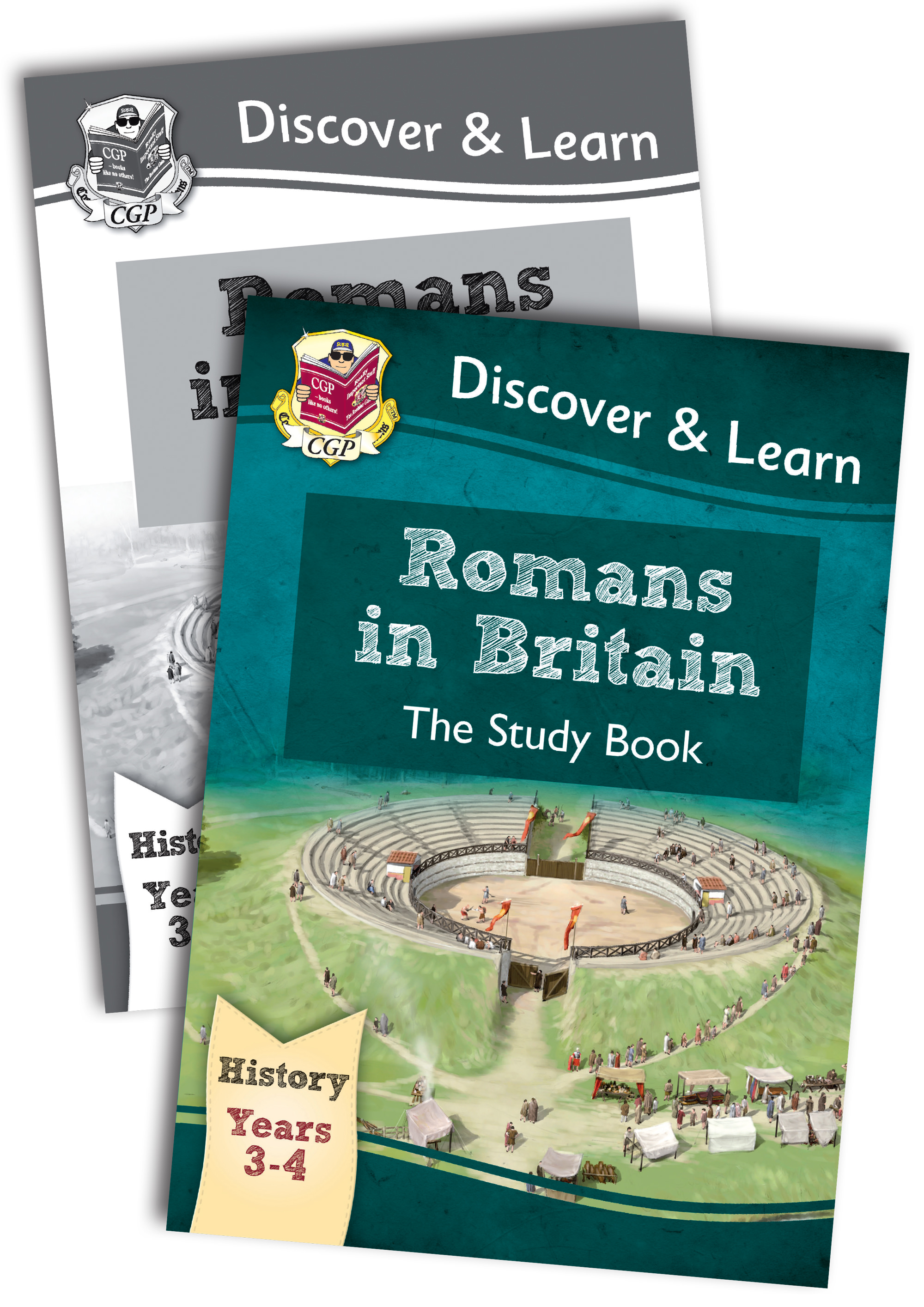 HRB22 - KS2 Discover & Learn: History - Romans in Britain Bundle