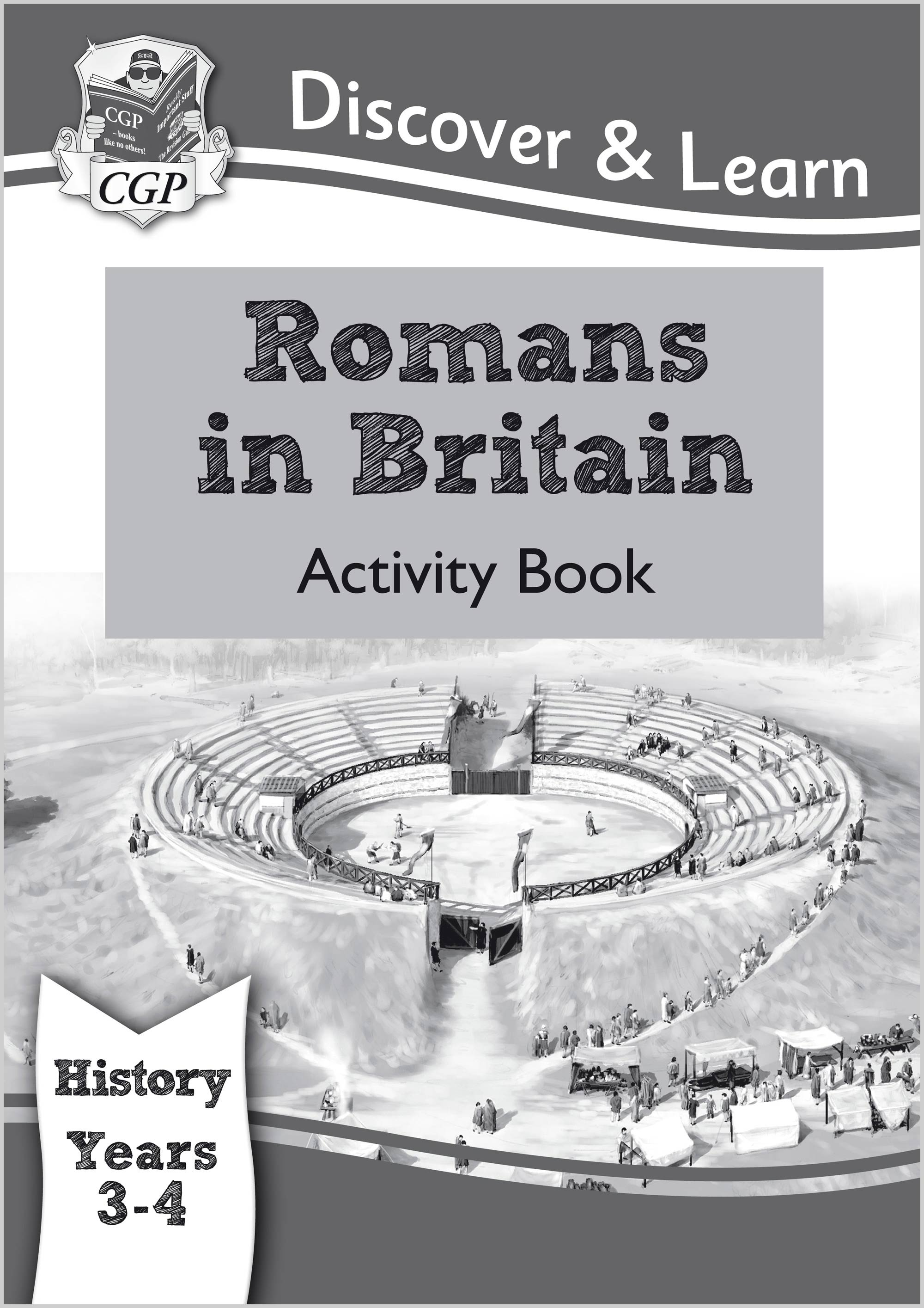 HRW22 - KS2 Discover & Learn: History - Romans in Britain Activity book, Year 3 & 4