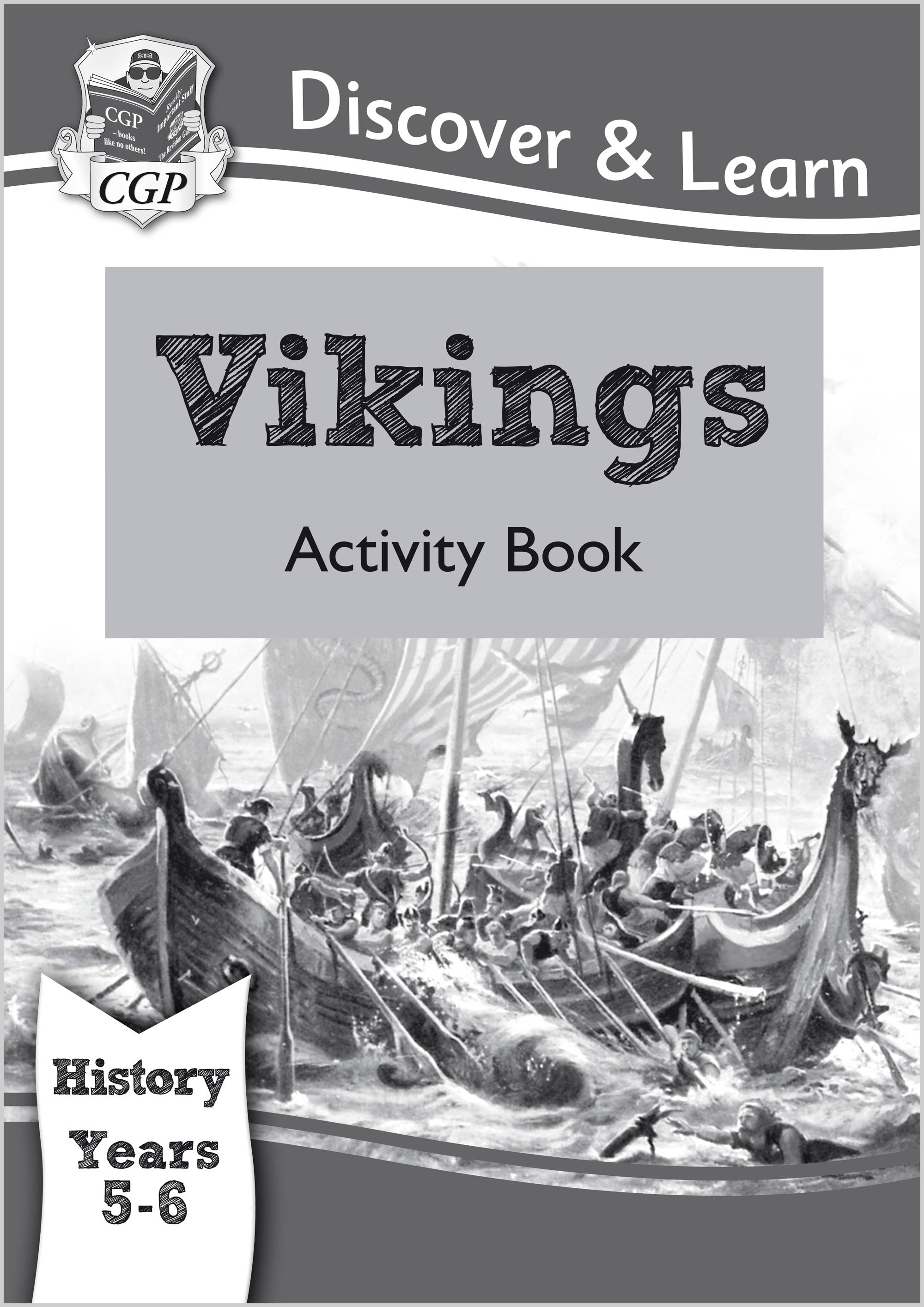 HVW22 - KS2 Discover & Learn: History - Vikings Activity Book, Year 5 & 6