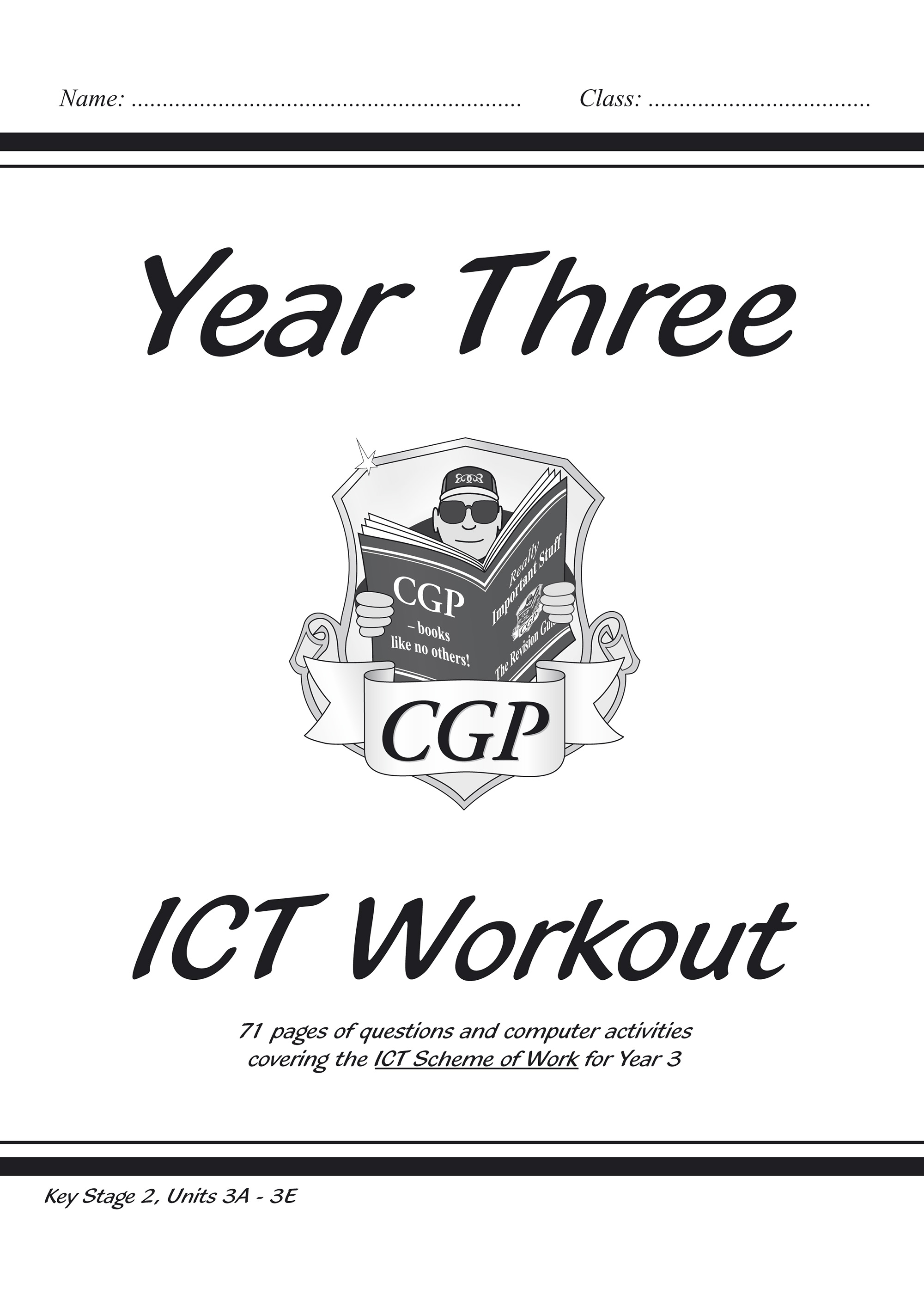 I3R22 - KS2 ICT Workout Book - Year 3