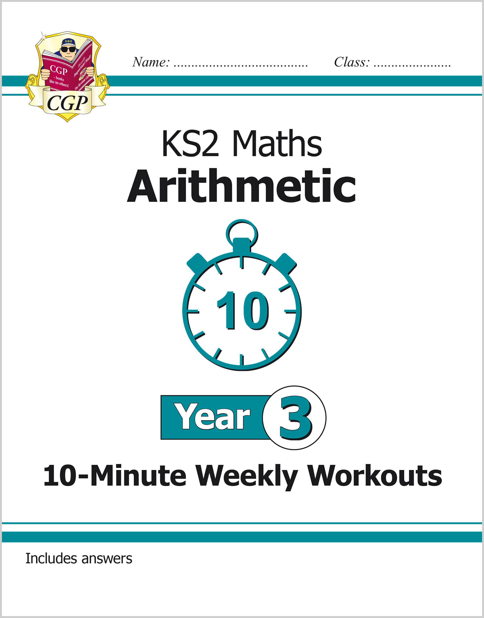 M3ARXW21 - New KS2 Maths 10-Minute Weekly Workouts: Arithmetic - Year 3