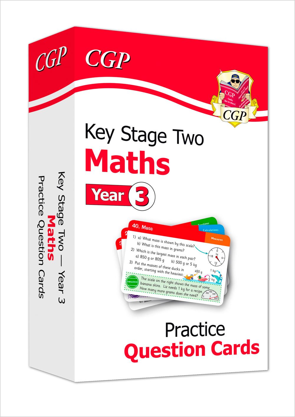 M3F21 - New KS2 Maths Practice Question Cards - Year 3