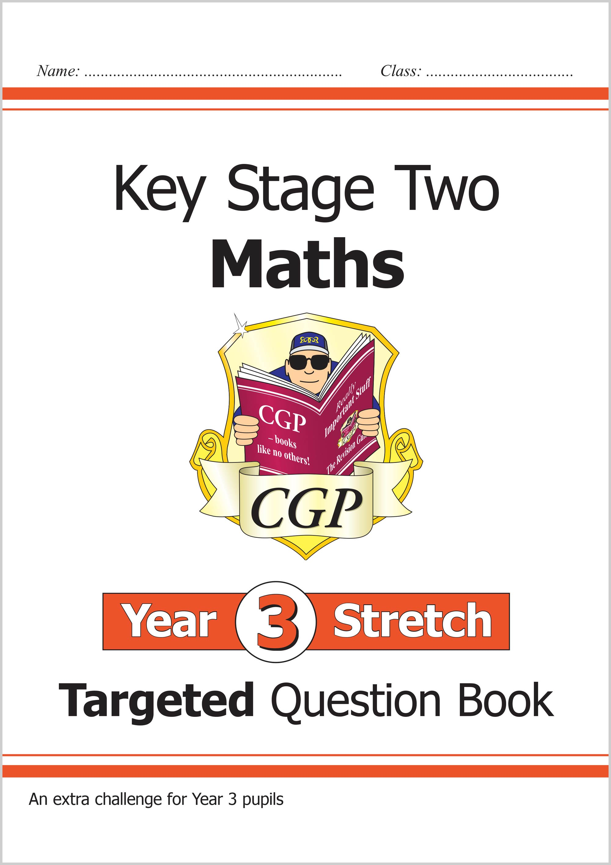 M3HQ21 - tbc KS2 Maths Targeted Question Book - Year 3 Stretch, Challenging Maths for Year 3 Pupils