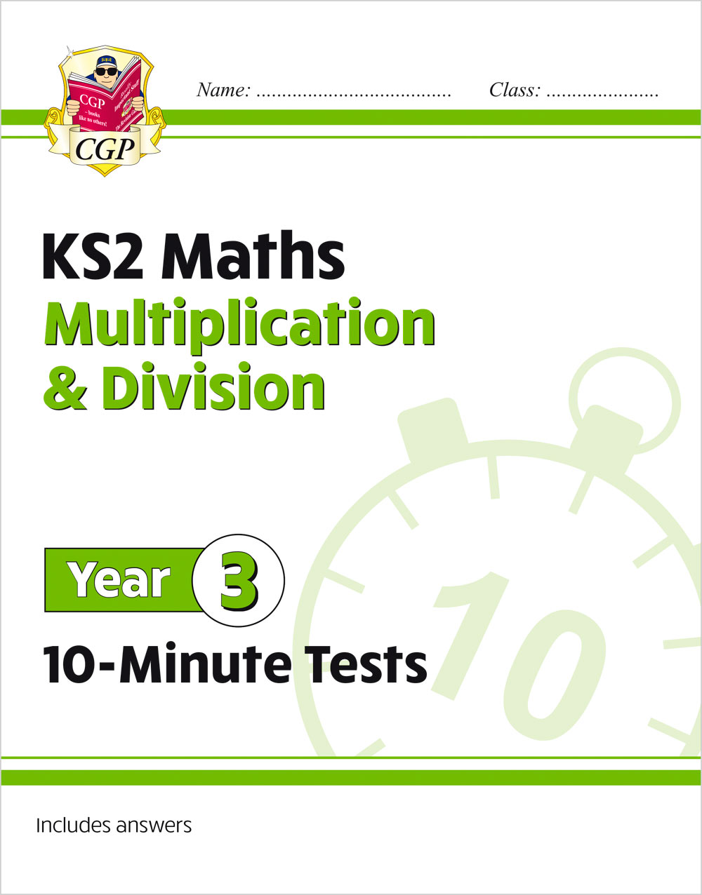 M3MDXP21 - New KS2 Maths 10-Minute Tests: Multiplication & Division - Year 3