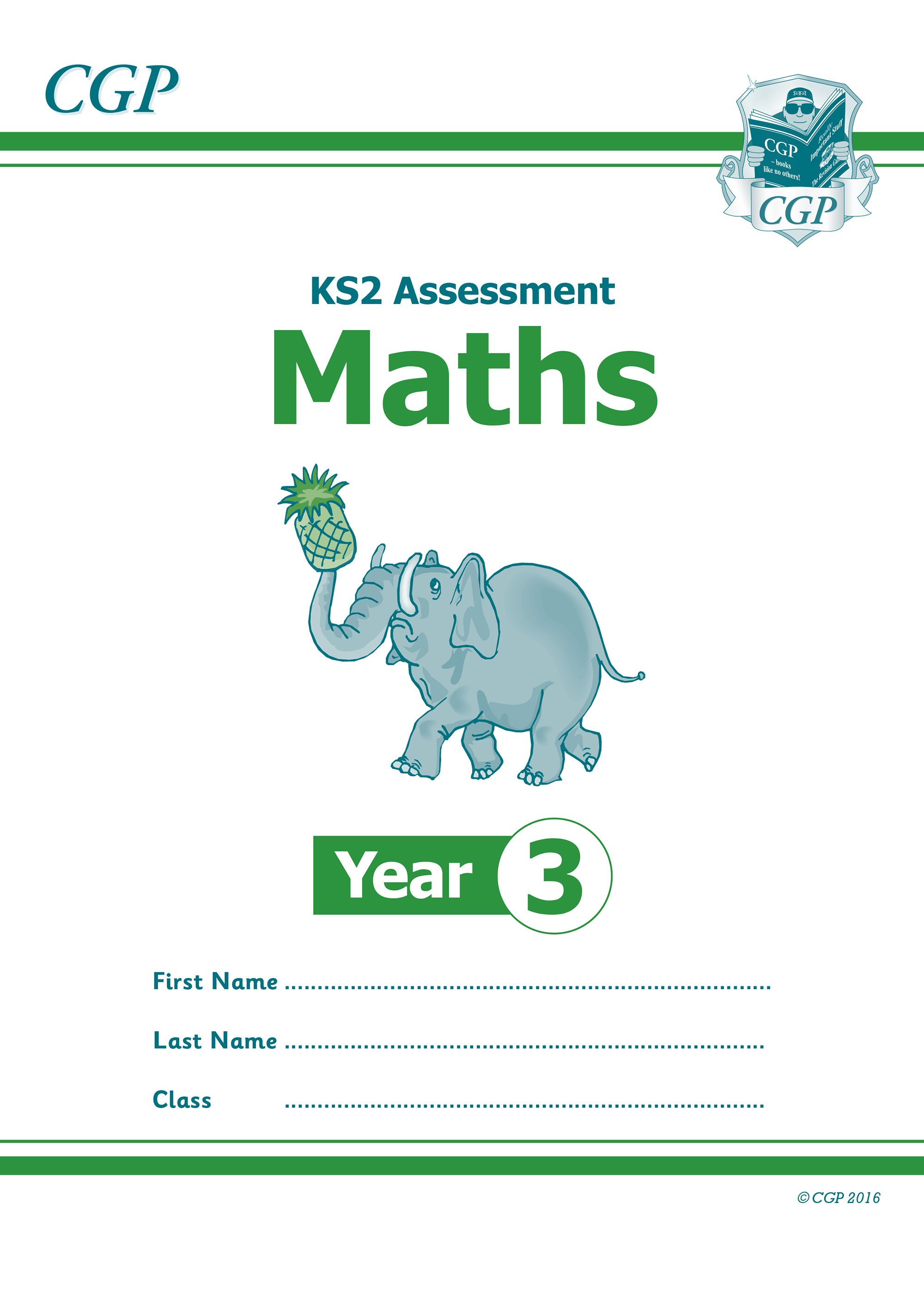 M3P21 - New KS2 Assessment: Maths - Year 3 Test
