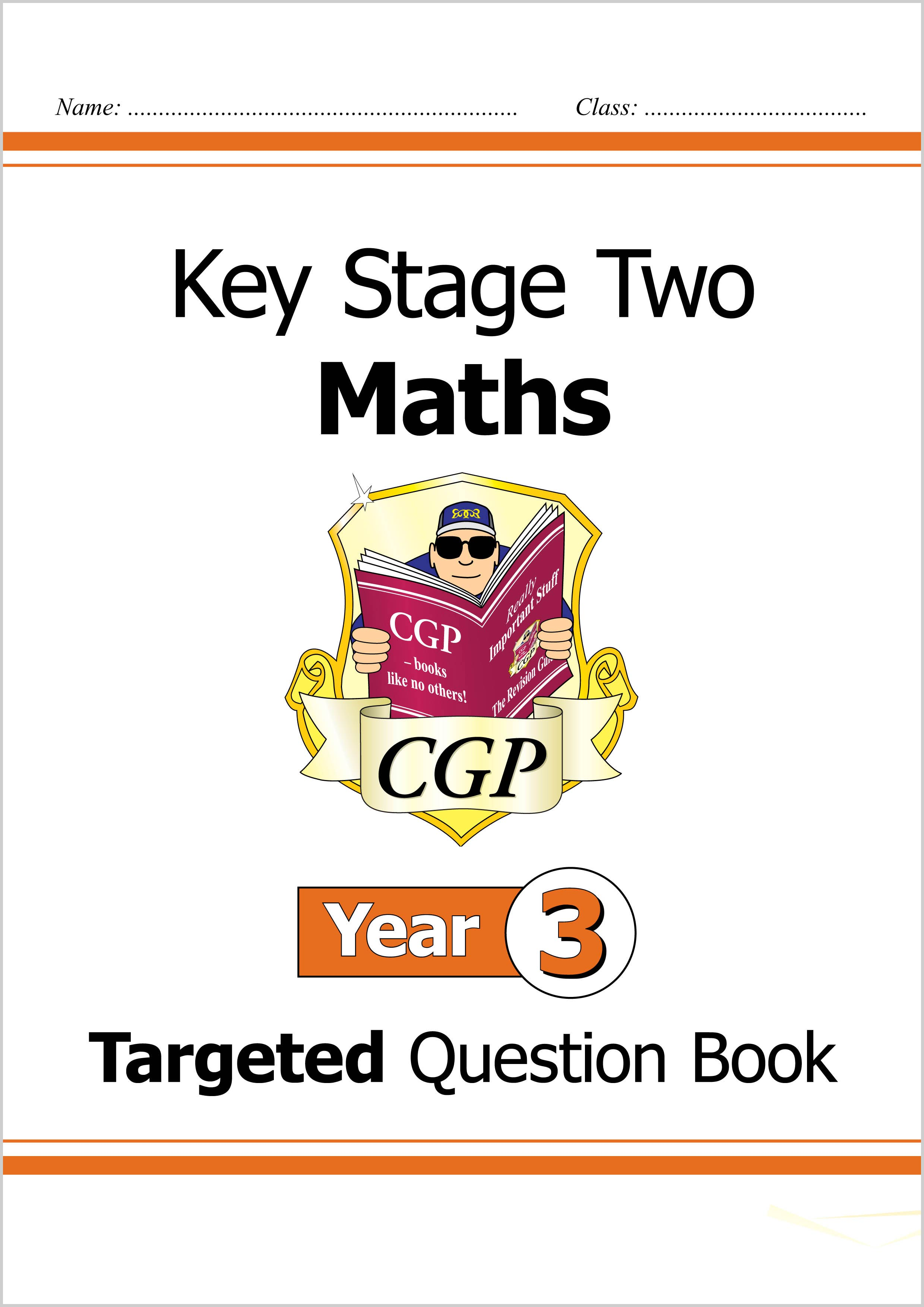 M3Q23DK - KS2 Maths Targeted Question Book - Year 3