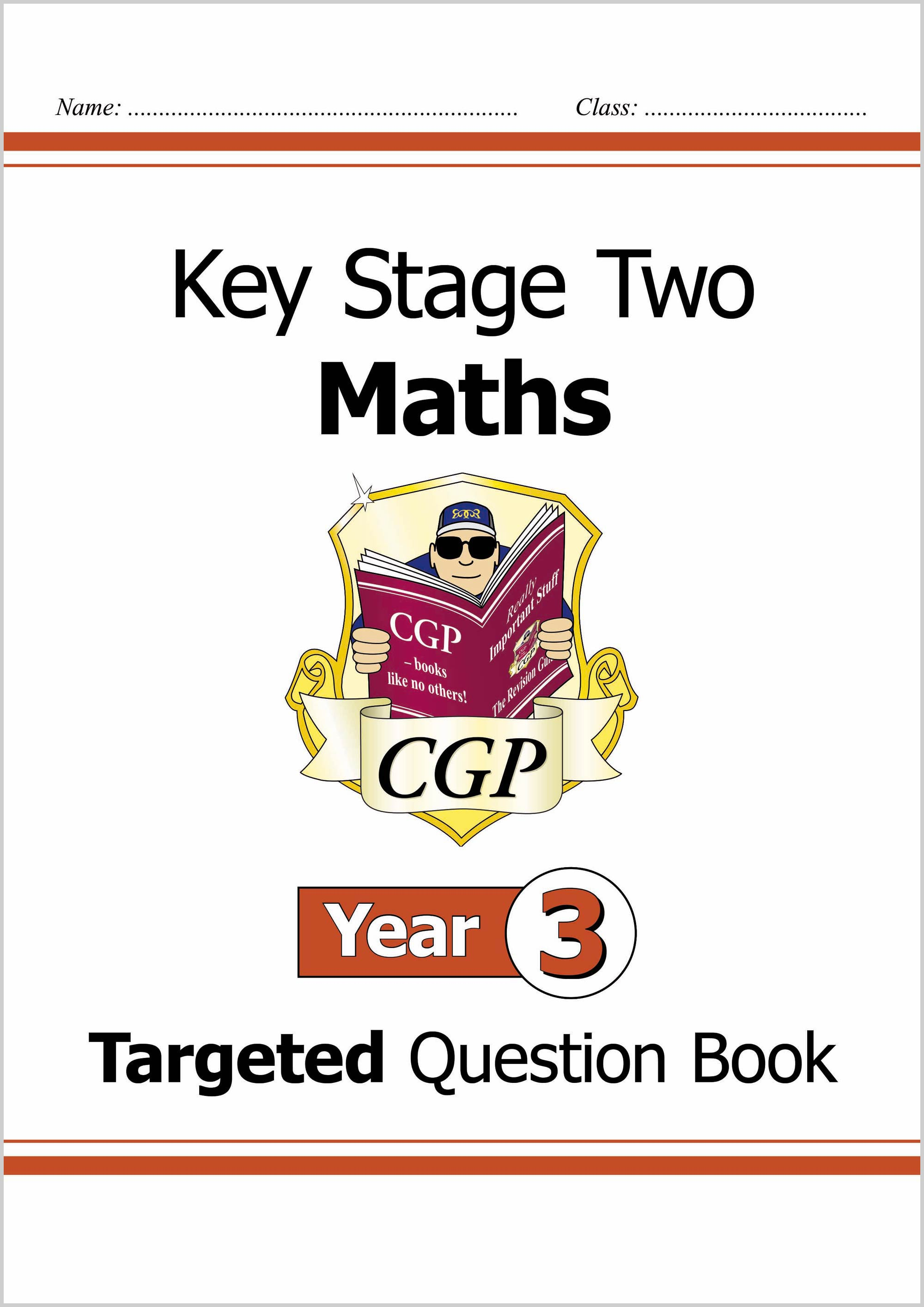 M3Q24D - KS2 Maths Targeted Question Book - Year 3 Online Edition