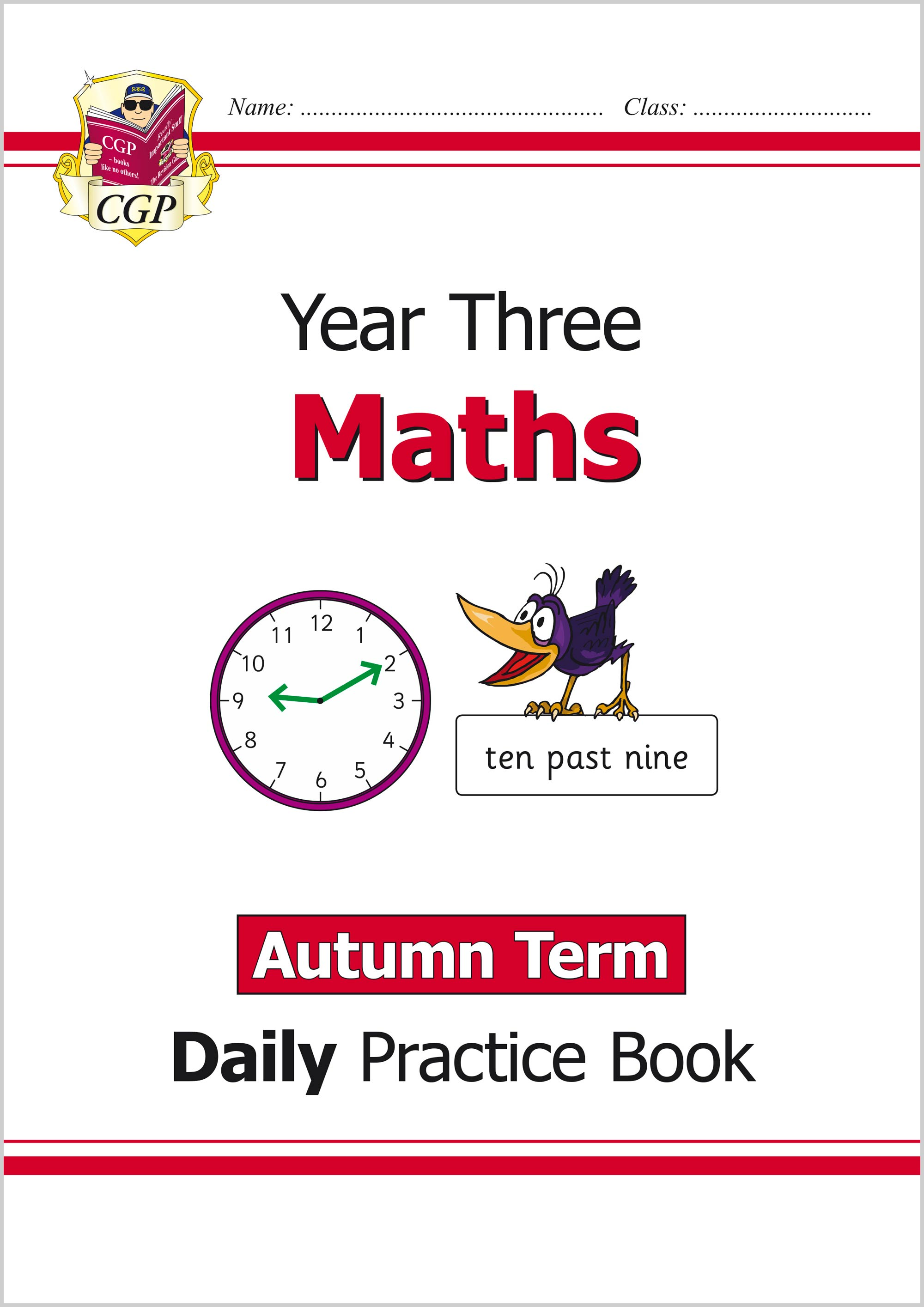 M3WAU21 - New KS2 Maths Daily Practice Book: Year 3 - Autumn Term