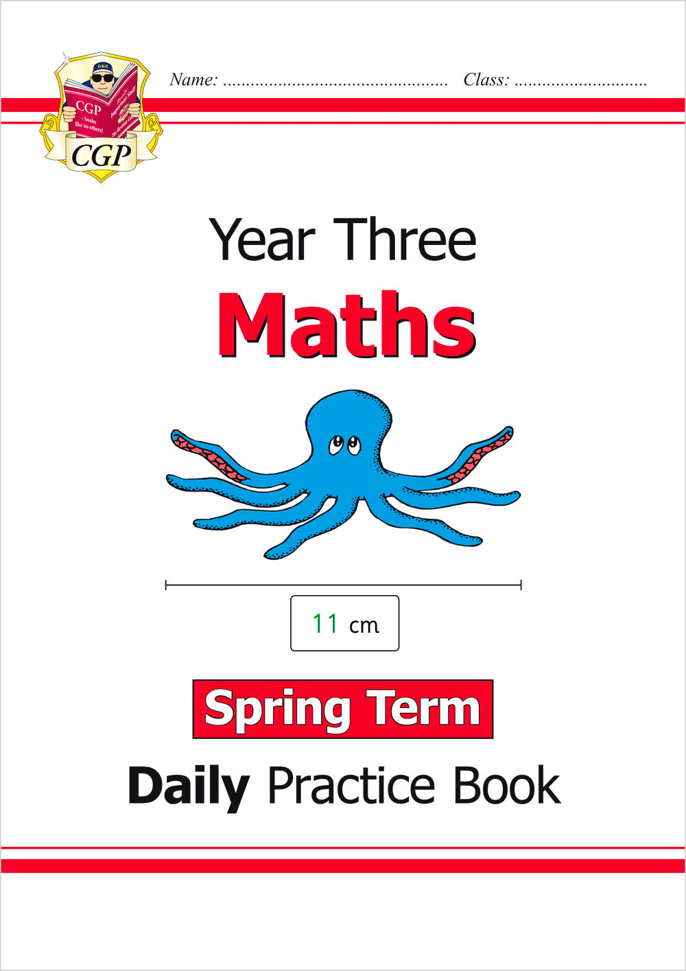 M3WSP21 - New KS2 Maths Daily Practice Book: Year 3 - Spring Term