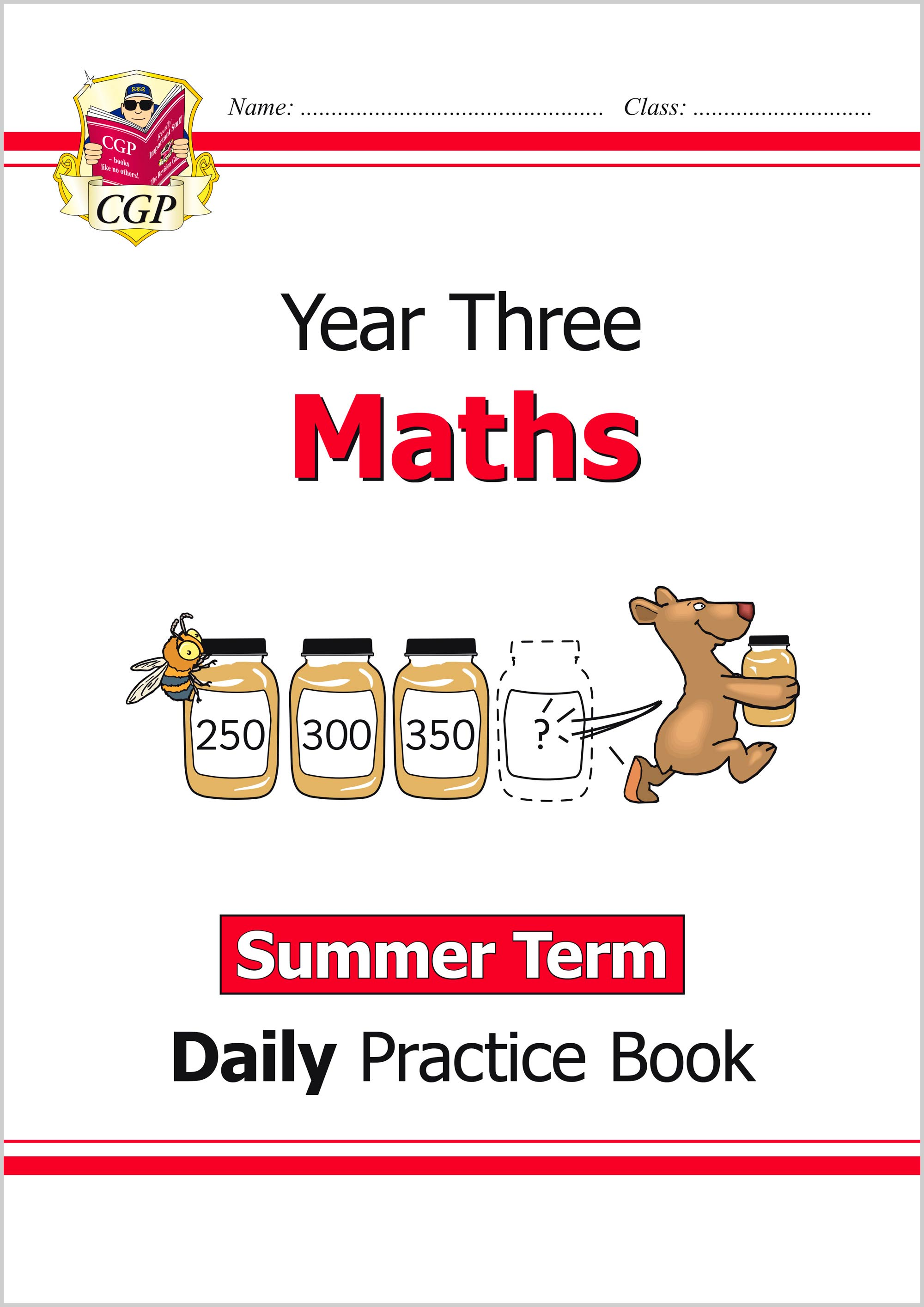 M3WSU21 - New KS2 Maths Daily Practice Book: Year 3 - Summer Term