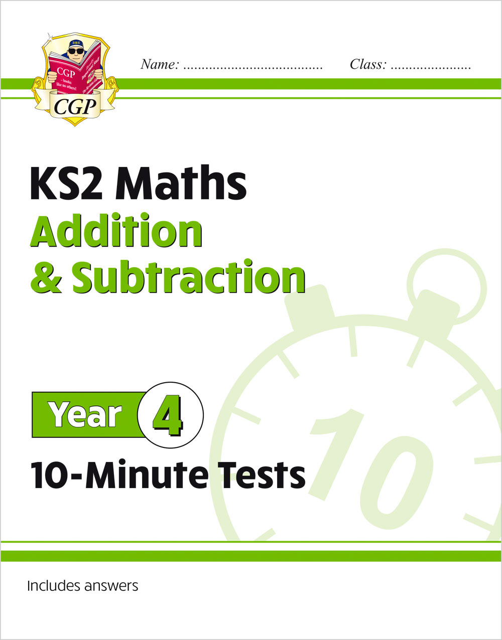 M4ASXP21 - New KS2 Maths 10-Minute Tests: Addition & Subtraction - Year 4