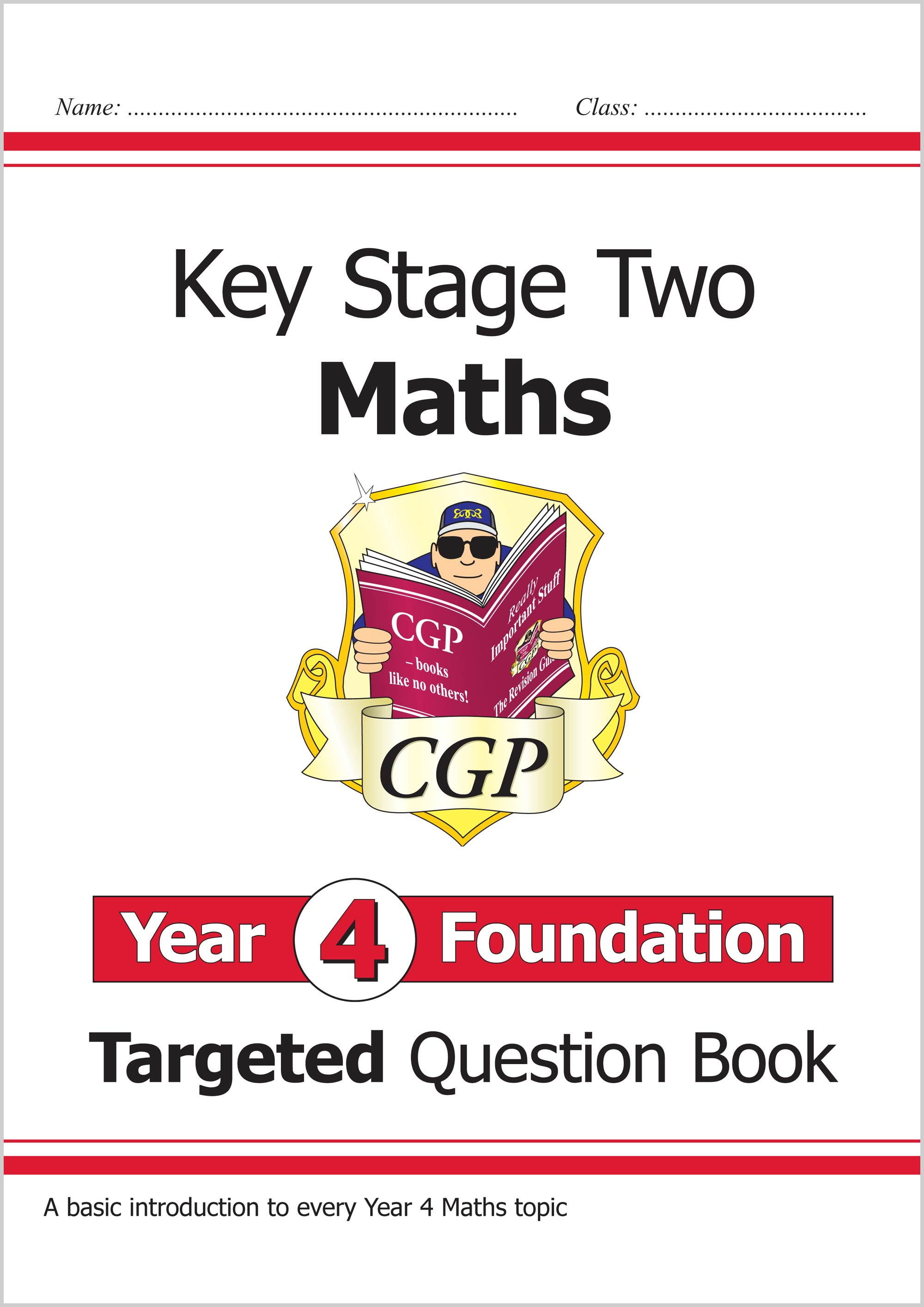 M4FQ21 - New KS2 Maths Targeted Question Book: Year 4 Foundation