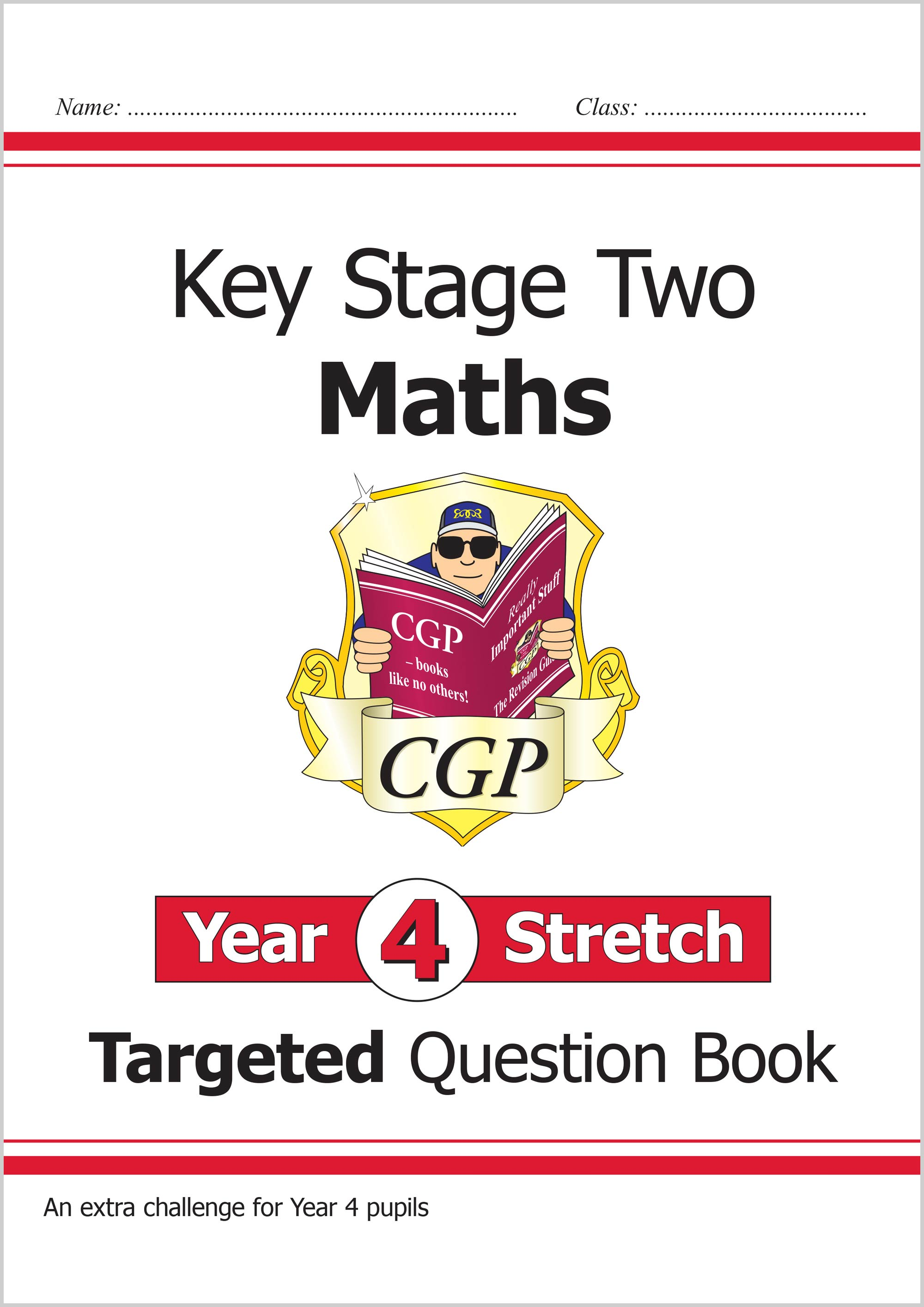 M4HQ21 - New KS2 Maths Targeted Question Book: Challenging Maths - Year 4 Stretch