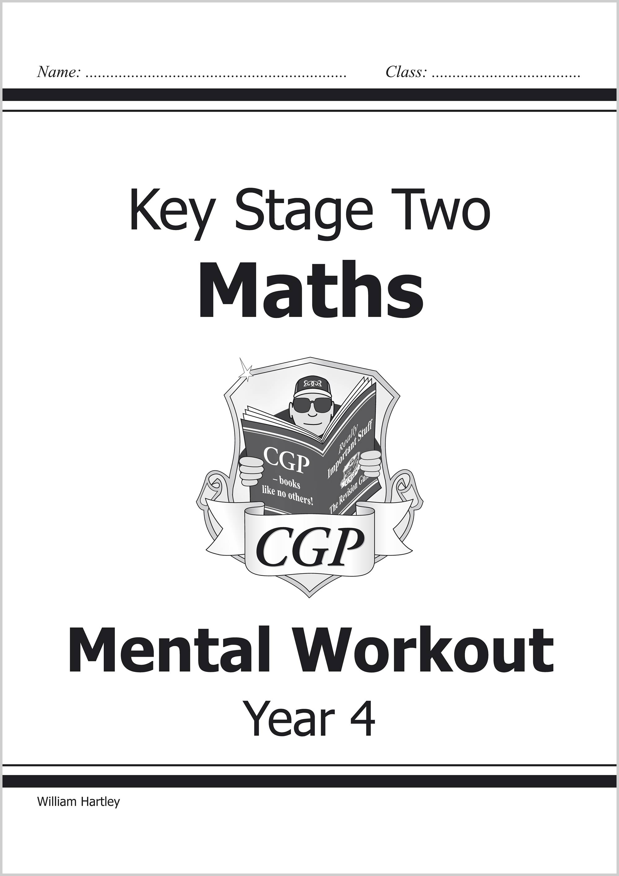 M4MA22 - KS2 Mental Maths Workout - Year 4