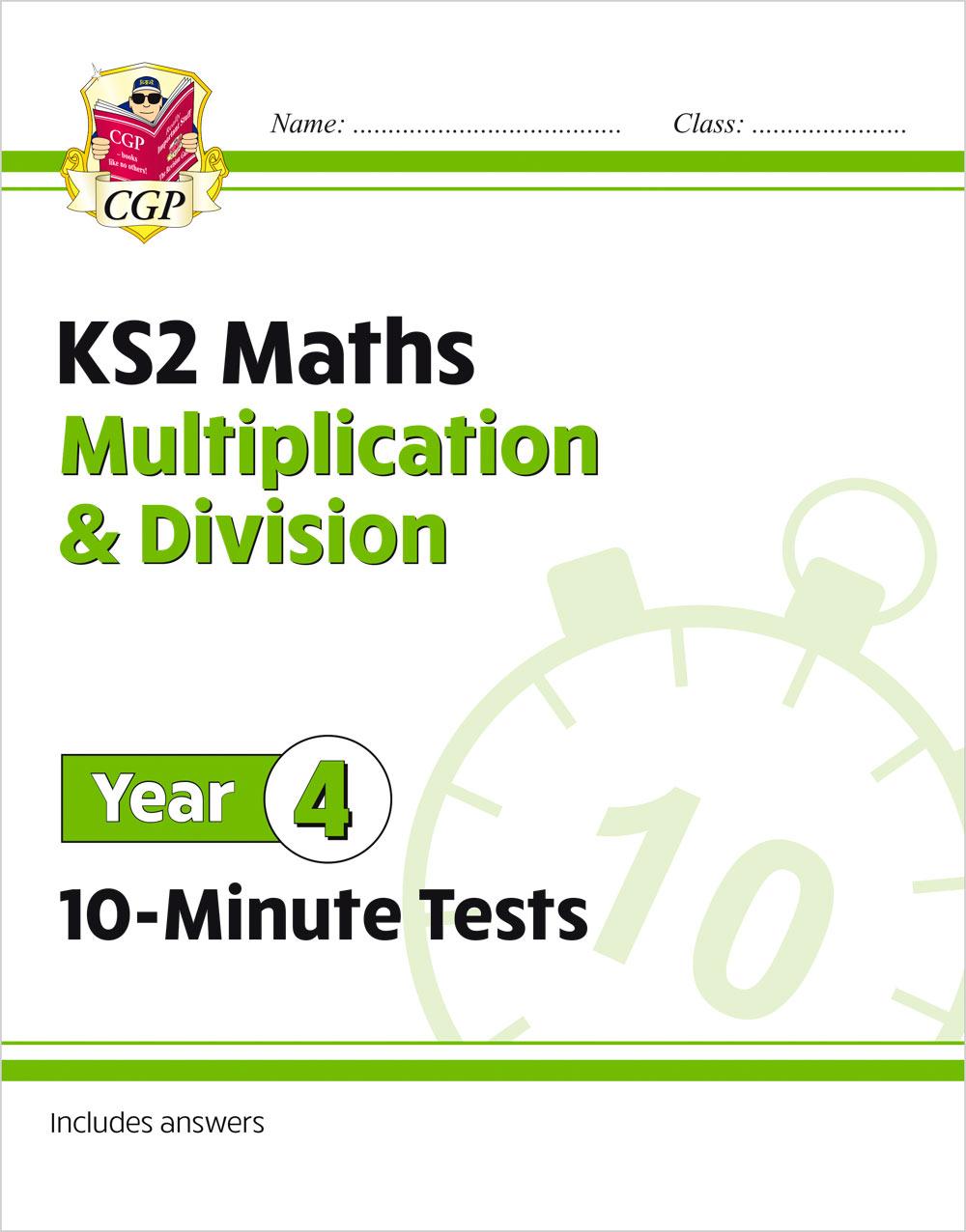 M4MDXP21 - New KS2 Maths 10-Minute Tests: Multiplication & Division - Year 4